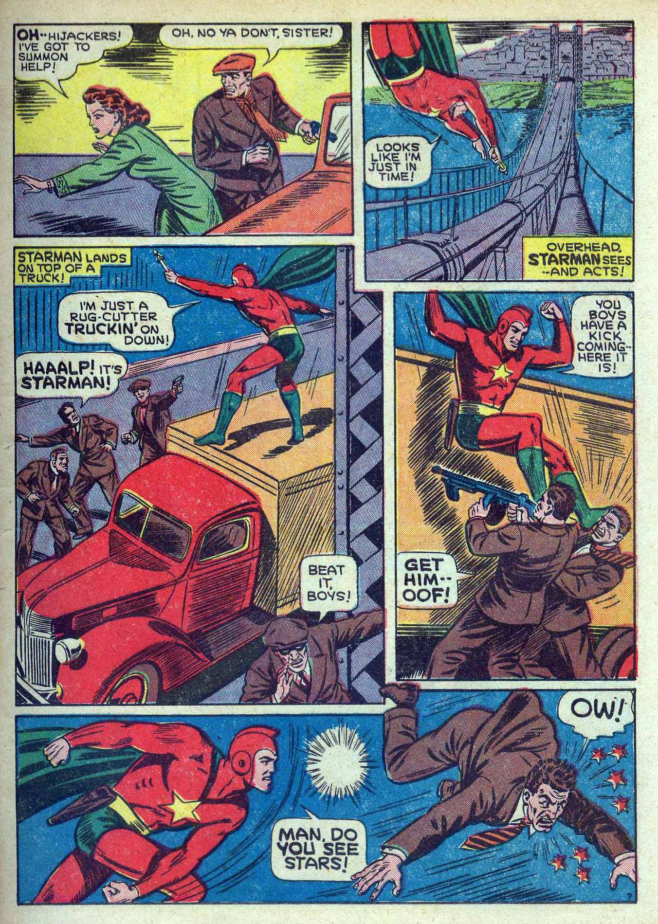 Read online Adventure Comics (1938) comic -  Issue #70 - 9