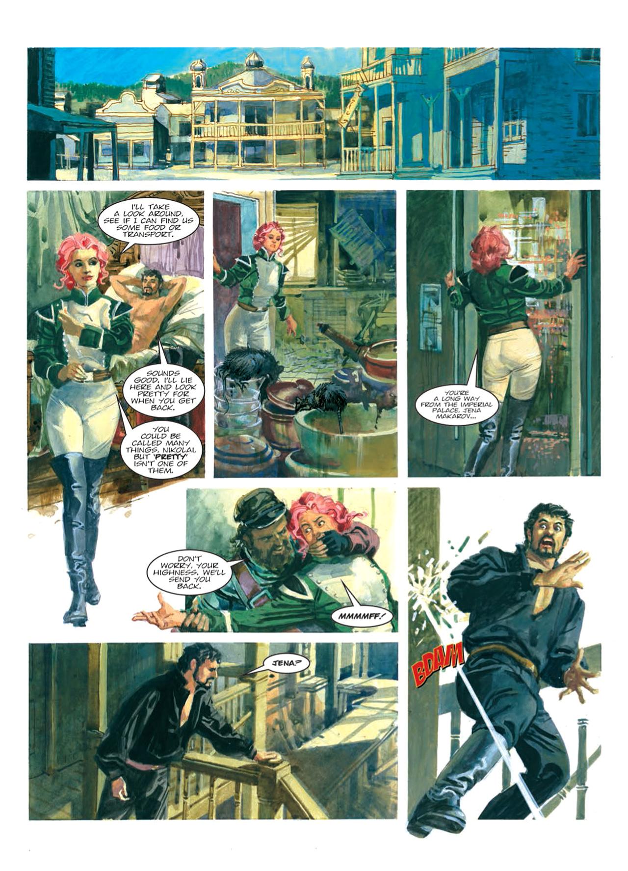 Read online Nikolai Dante comic -  Issue # TPB 9 - 113