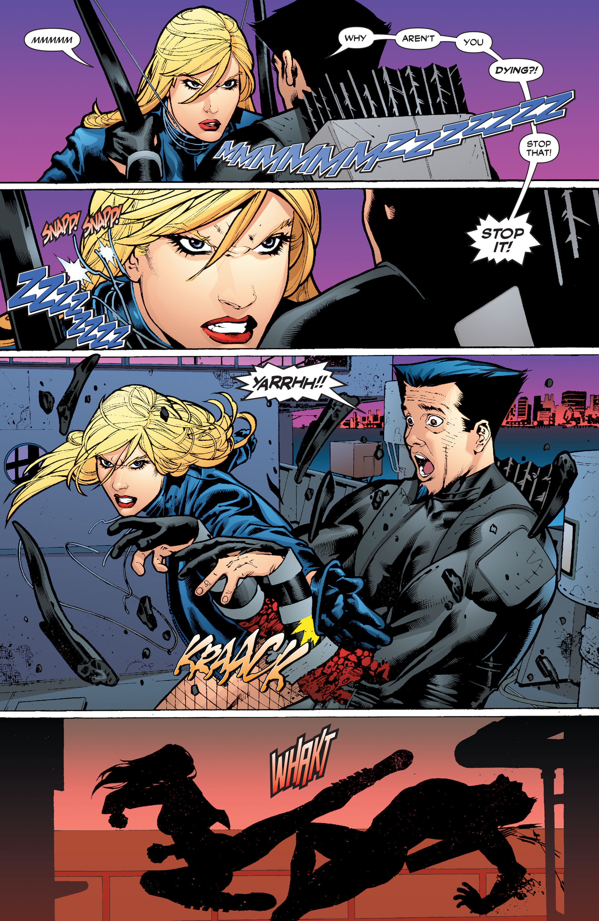 Read online Black Canary (2007) comic -  Issue #4 - 12