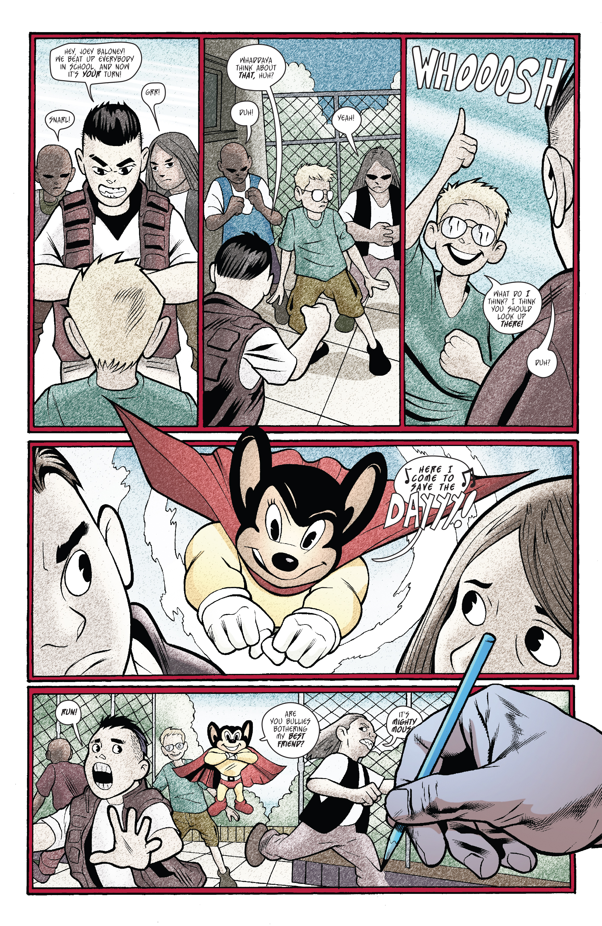 Read online Mighty Mouse (2017) comic -  Issue #1 - 17