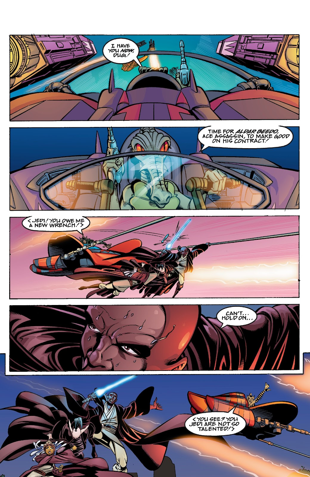 Read online Star Wars Legends Epic Collection: The Menace Revealed comic -  Issue # TPB (Part 4) - 20