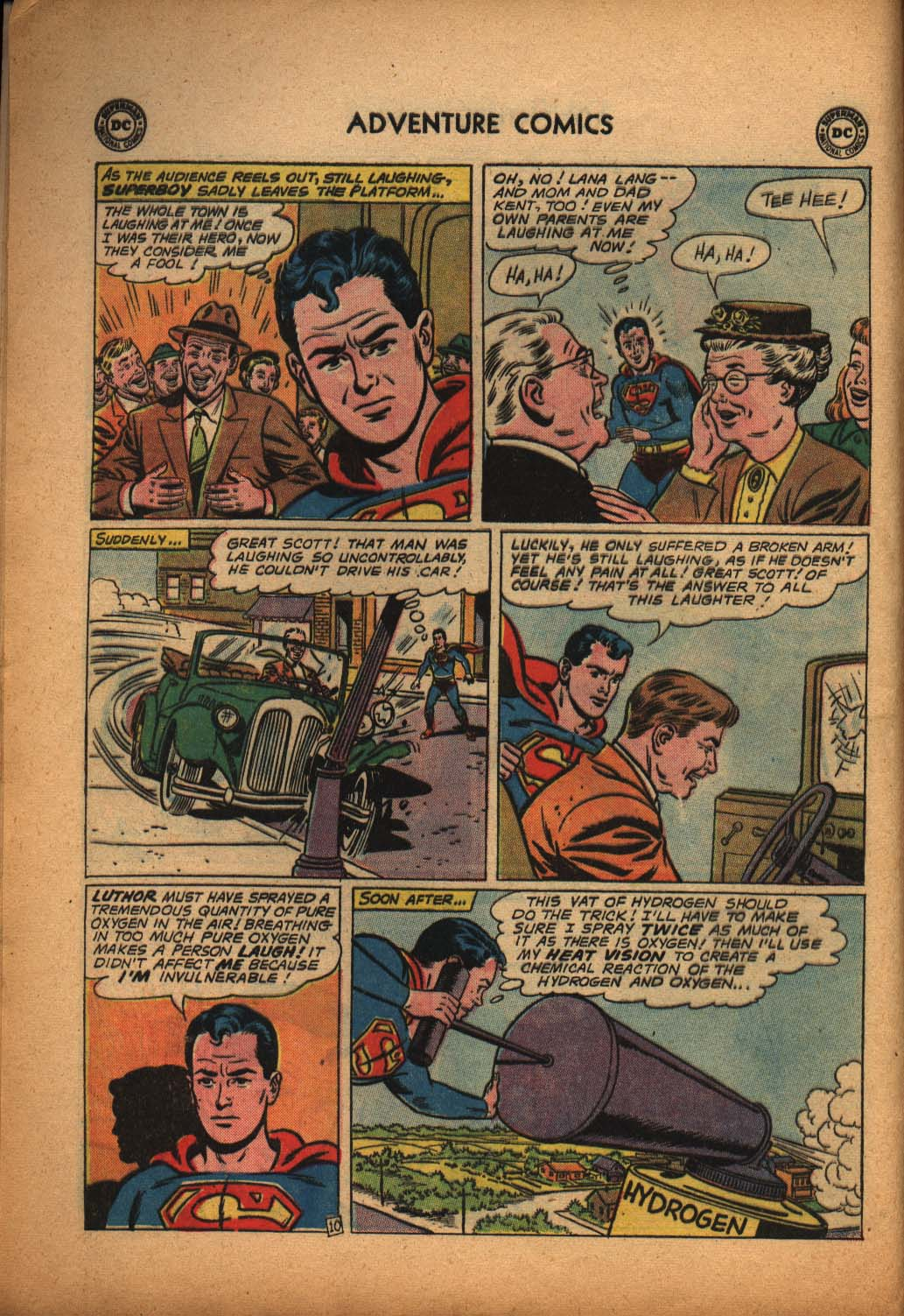 Read online Adventure Comics (1938) comic -  Issue #292 - 12