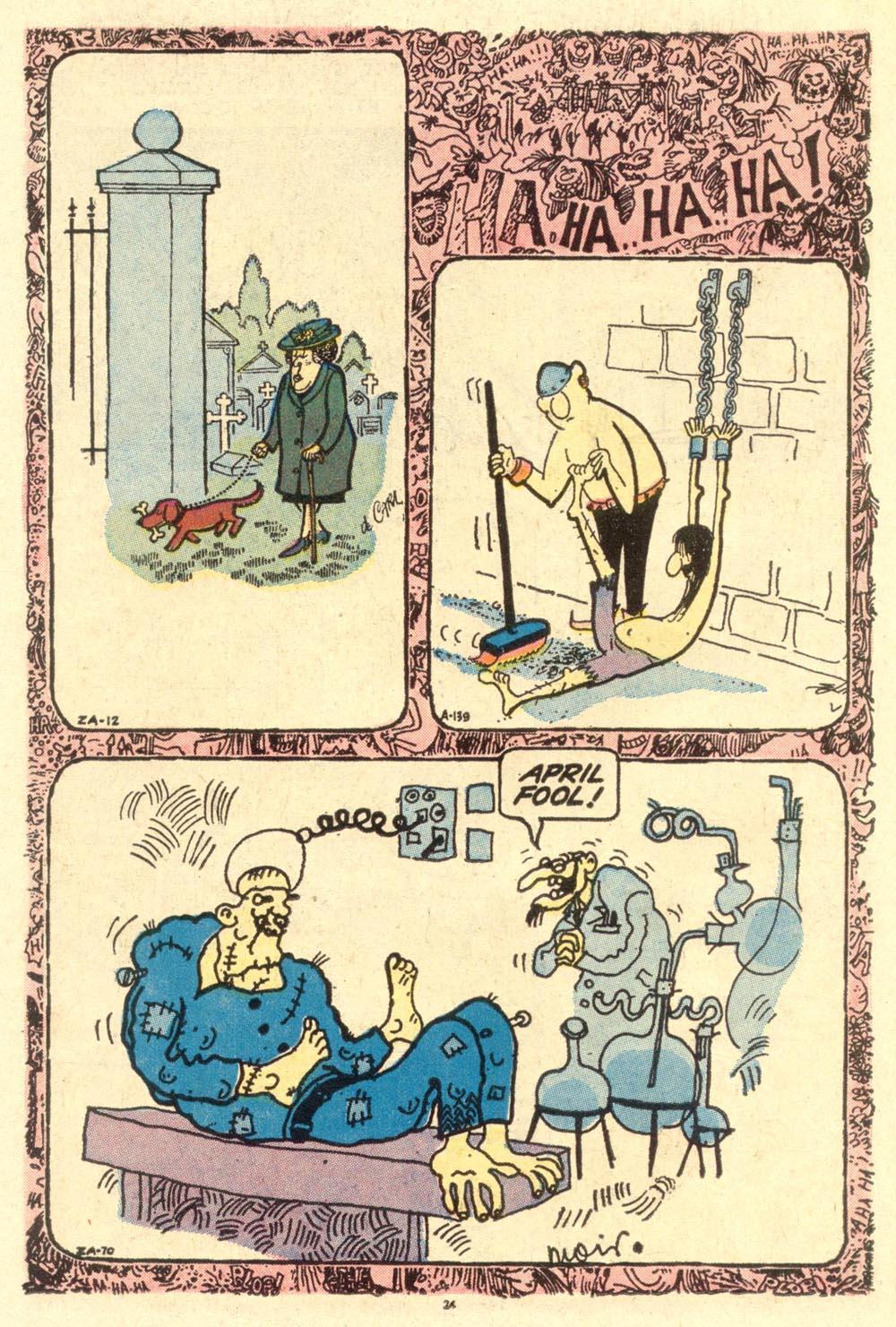 Read online Plop! comic -  Issue #1 - 26