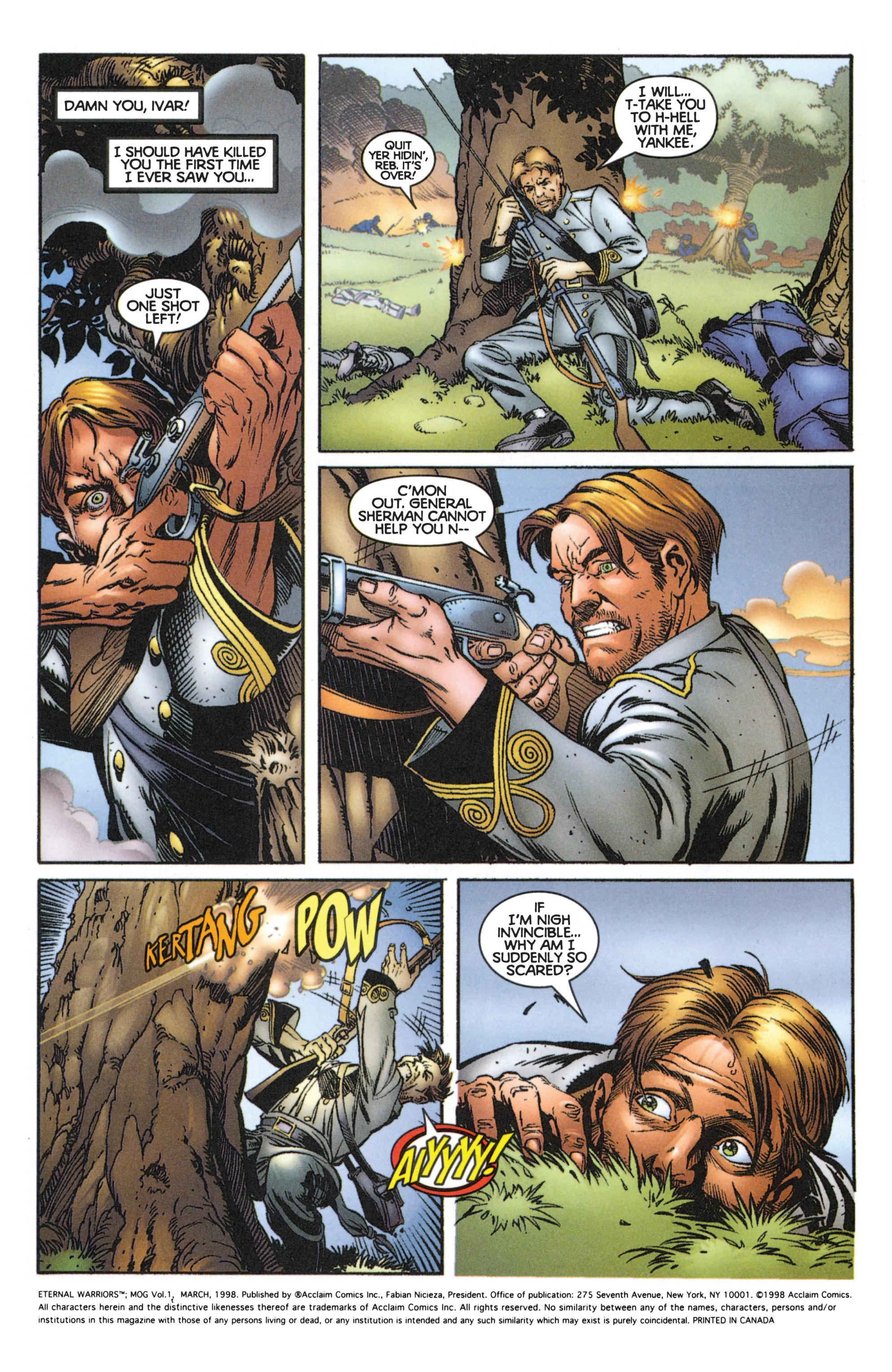 Read online Eternal Warriors comic -  Issue # Issue Mog - 3
