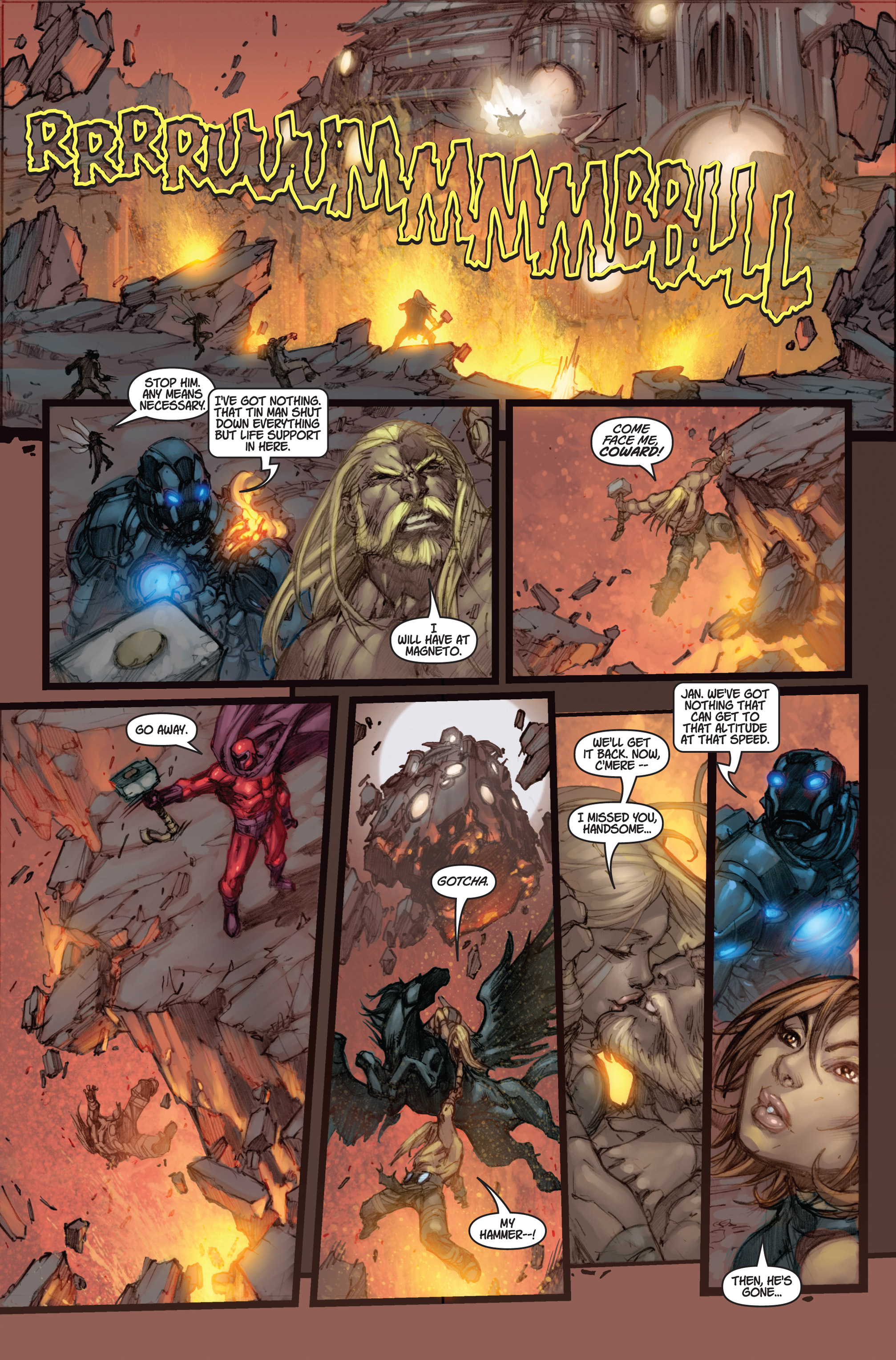 Read online Ultimates 3 comic -  Issue #5 - 21