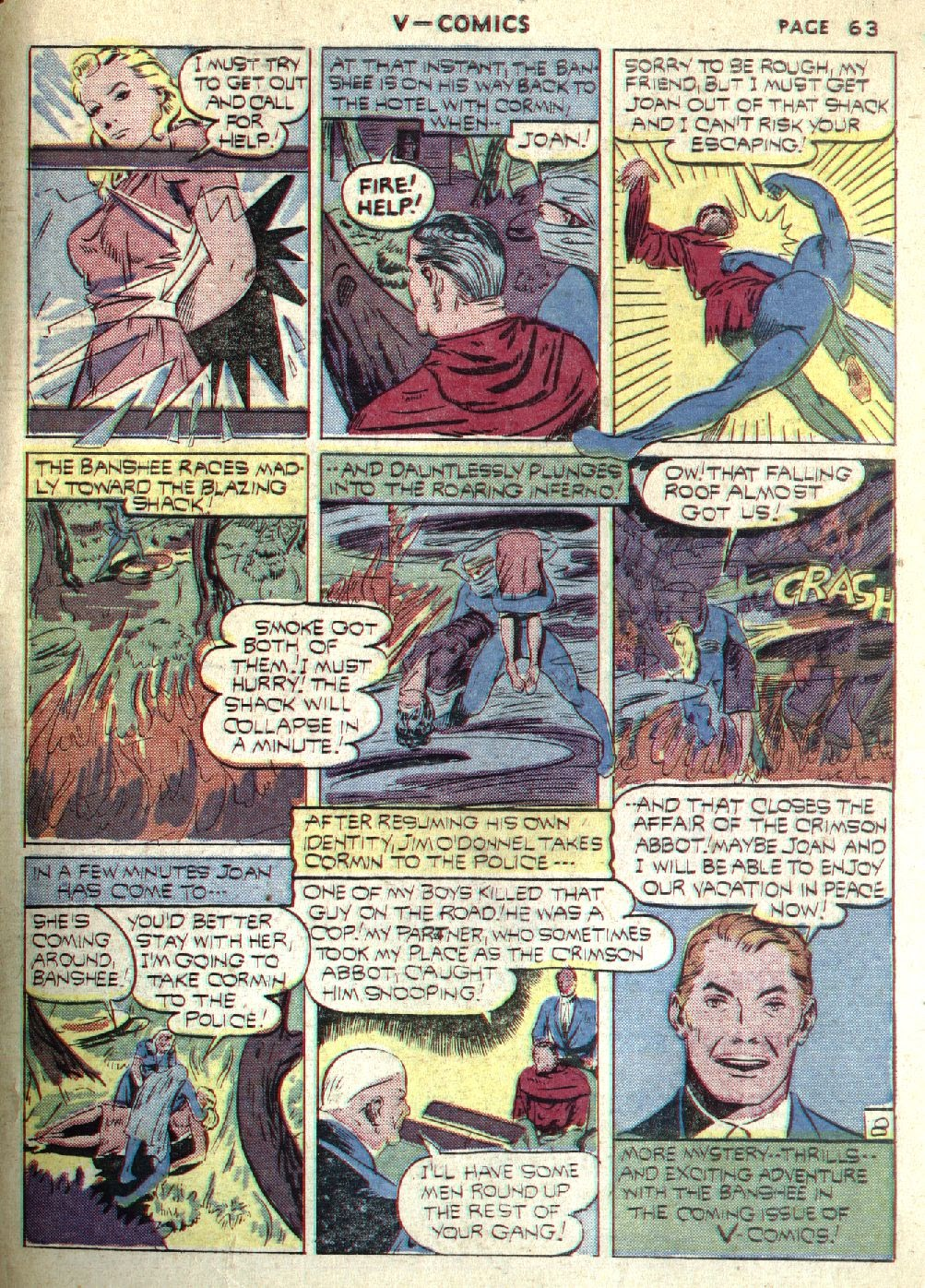 Read online V...- Comics comic -  Issue #1 - 64