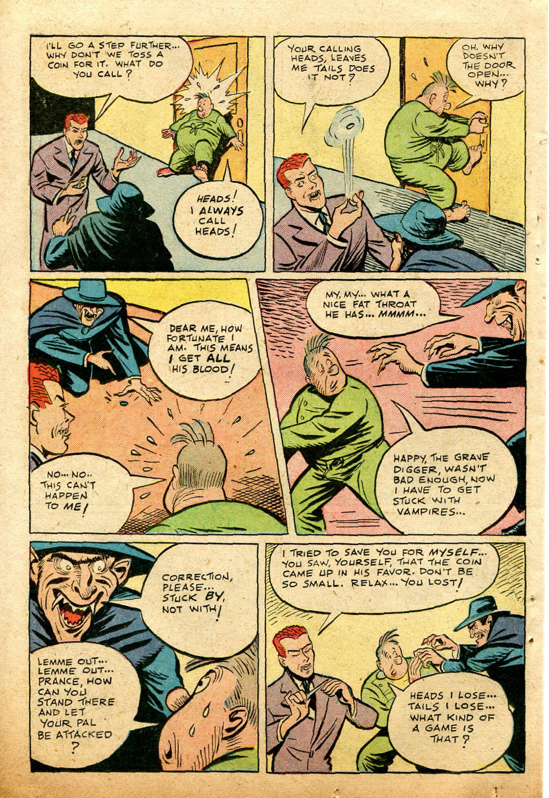 Read online Shadow Comics comic -  Issue #74 - 34