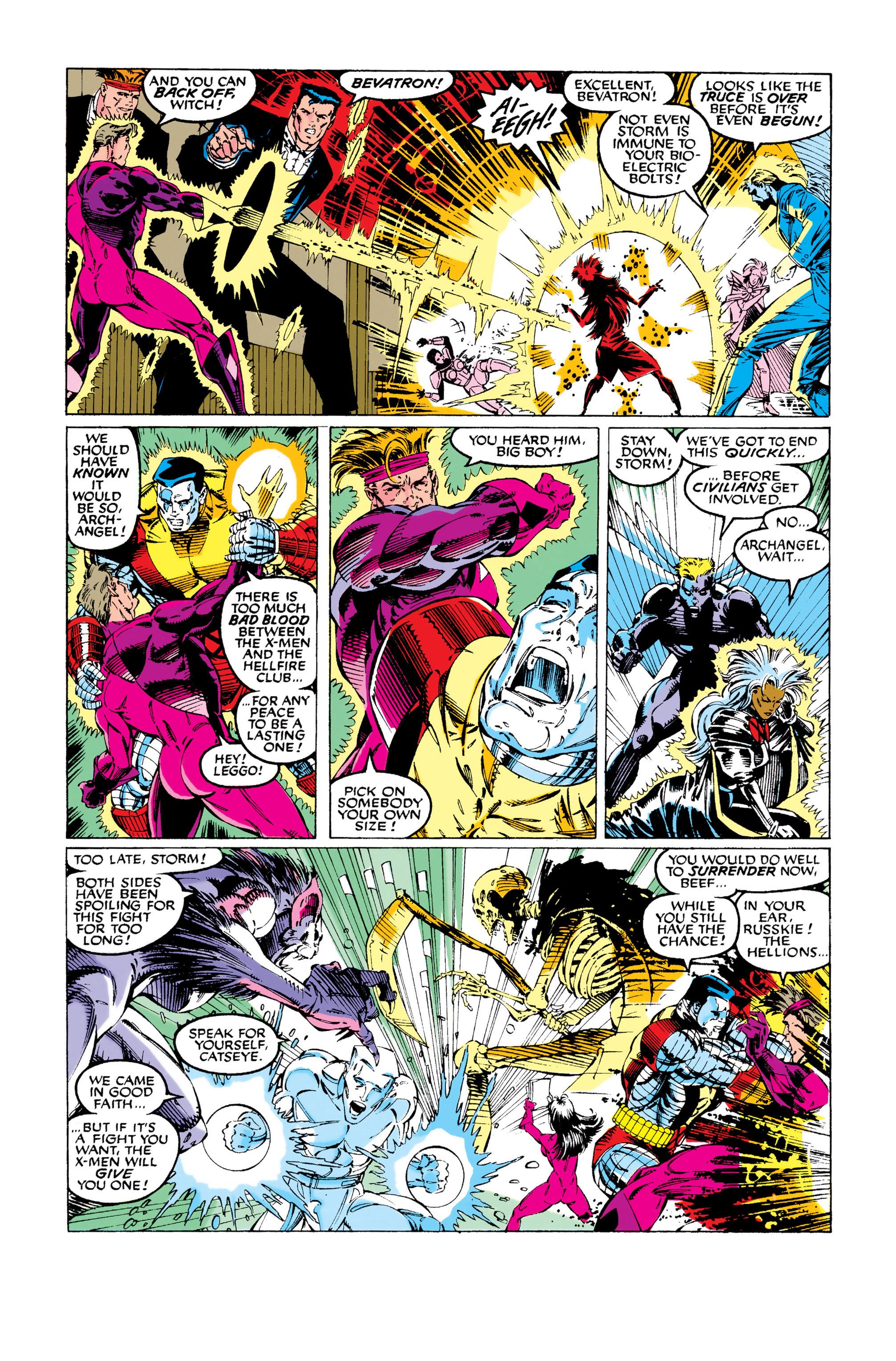 Read online Uncanny X-Men (1963) comic -  Issue #281 - 9