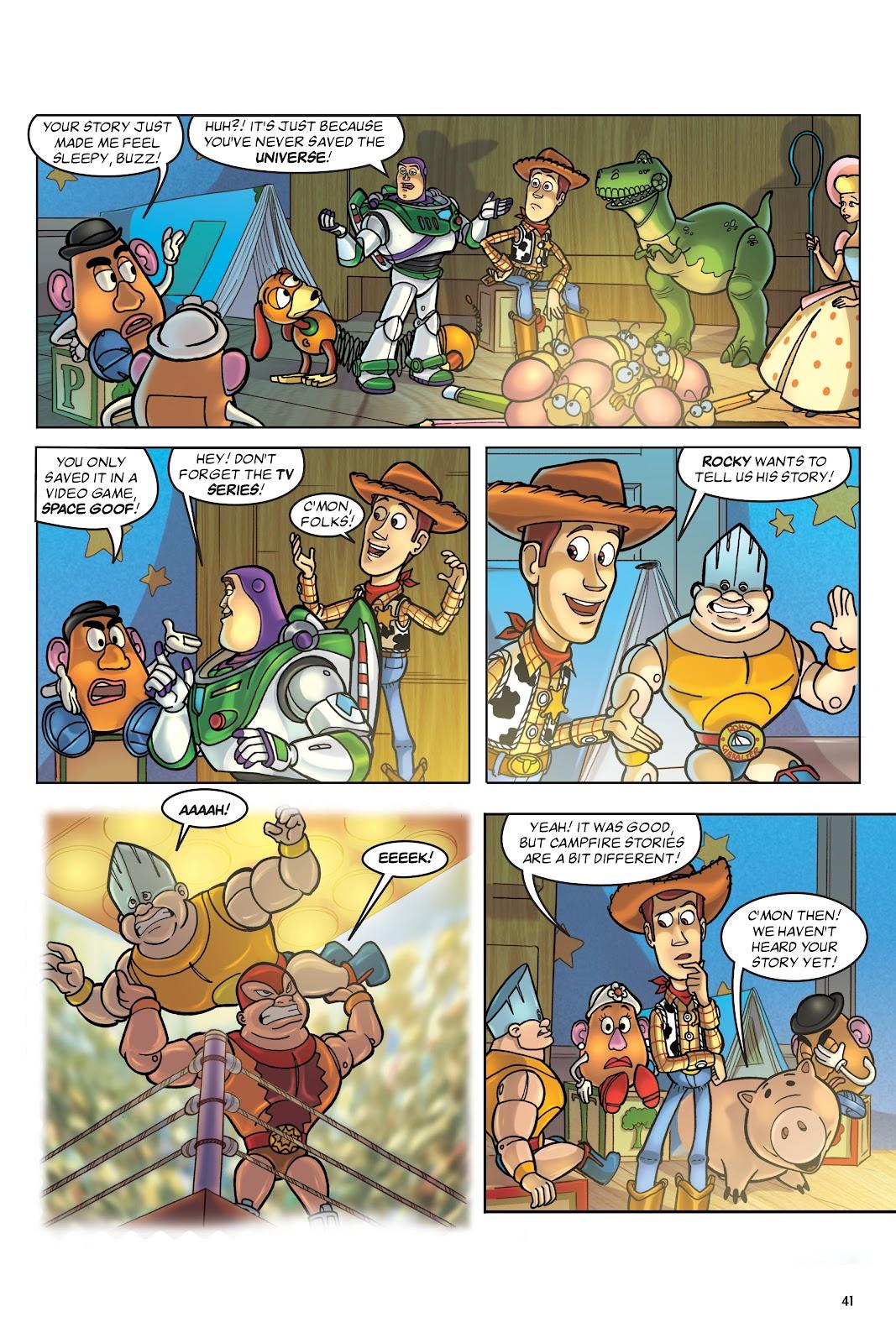 Read online DISNEY·PIXAR Toy Story Adventures comic -  Issue # TPB 1 (Part 1) - 41