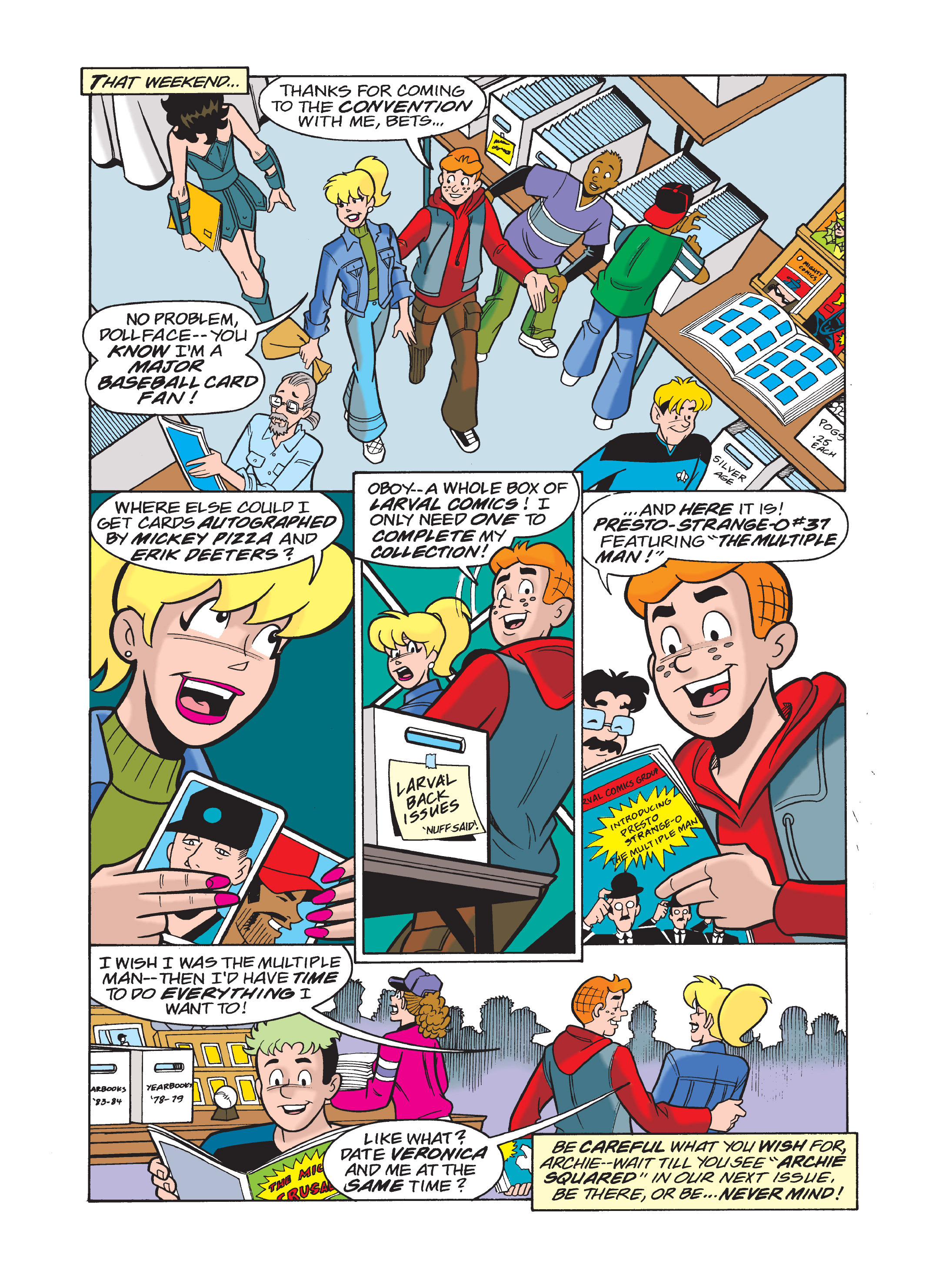 Read online Archie 75th Anniversary Digest comic -  Issue #1 - 138