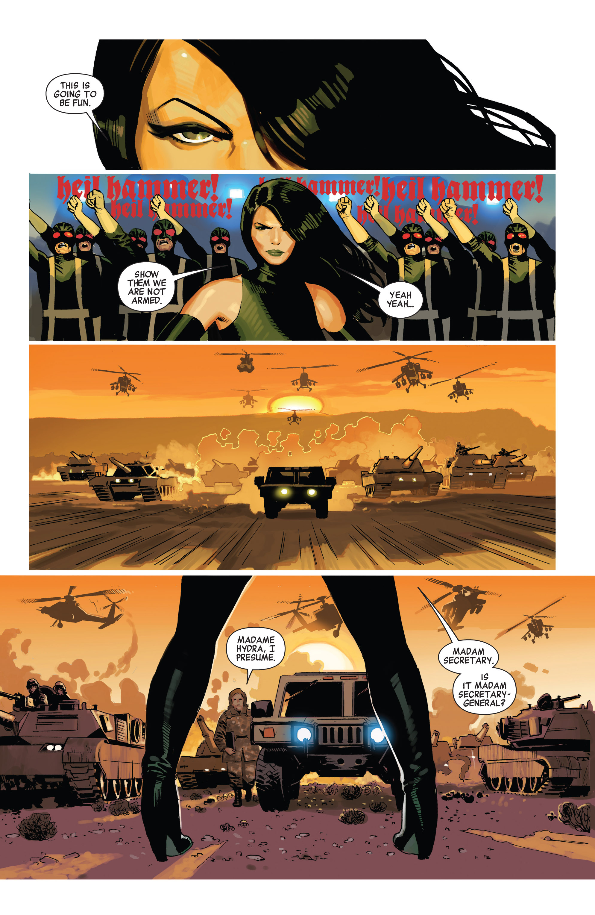 Read online Avengers (2010) comic -  Issue #23 - 3