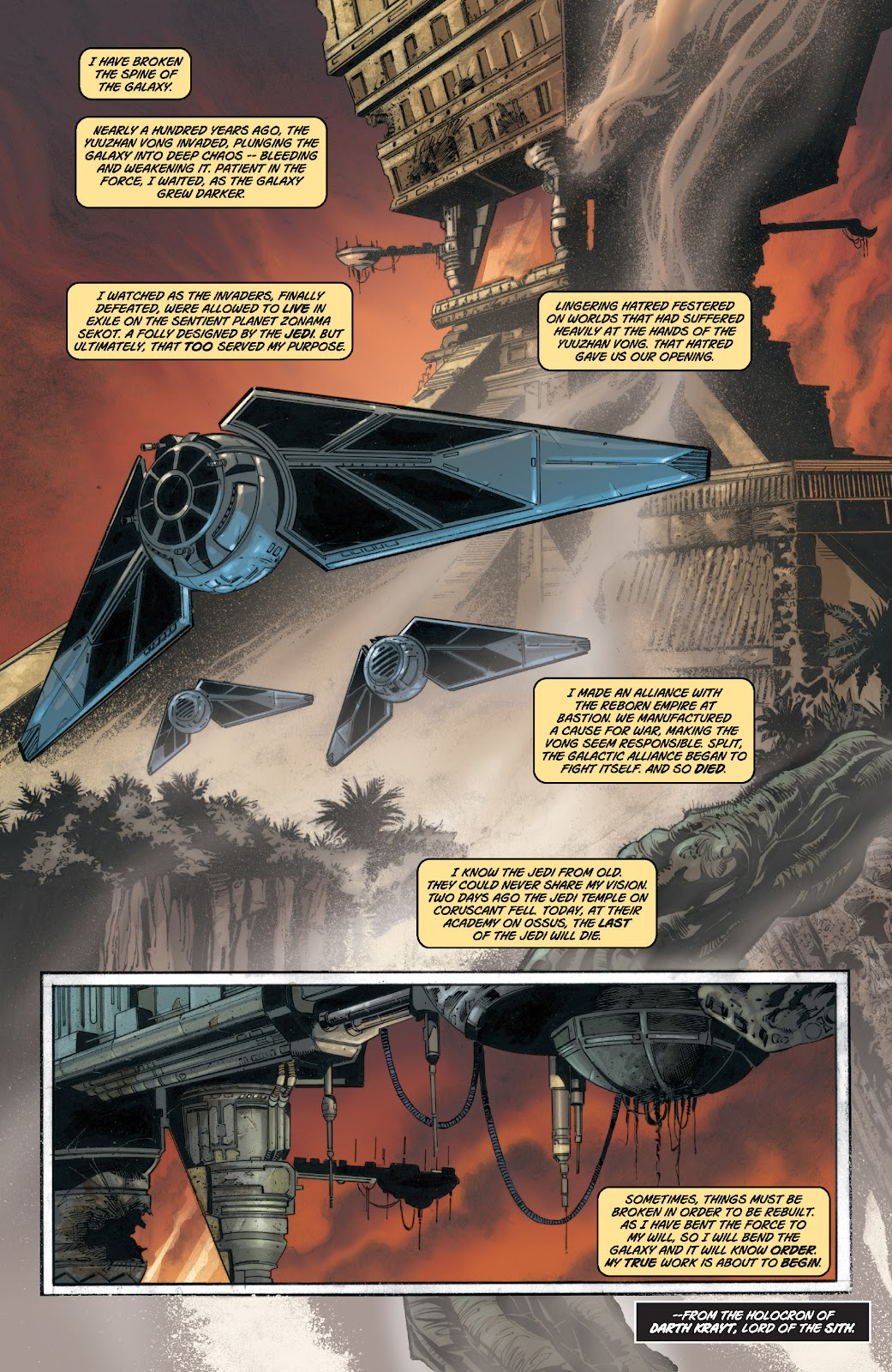 Read online Star Wars Legends: Legacy - Epic Collection comic -  Issue # TPB 1 (Part 1) - 7