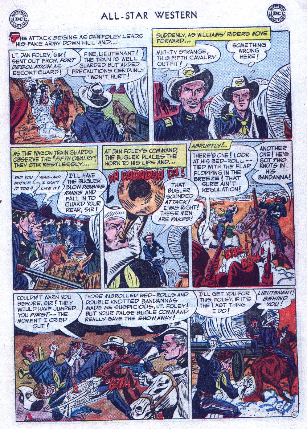 Read online All-Star Western (1951) comic -  Issue #69 - 23