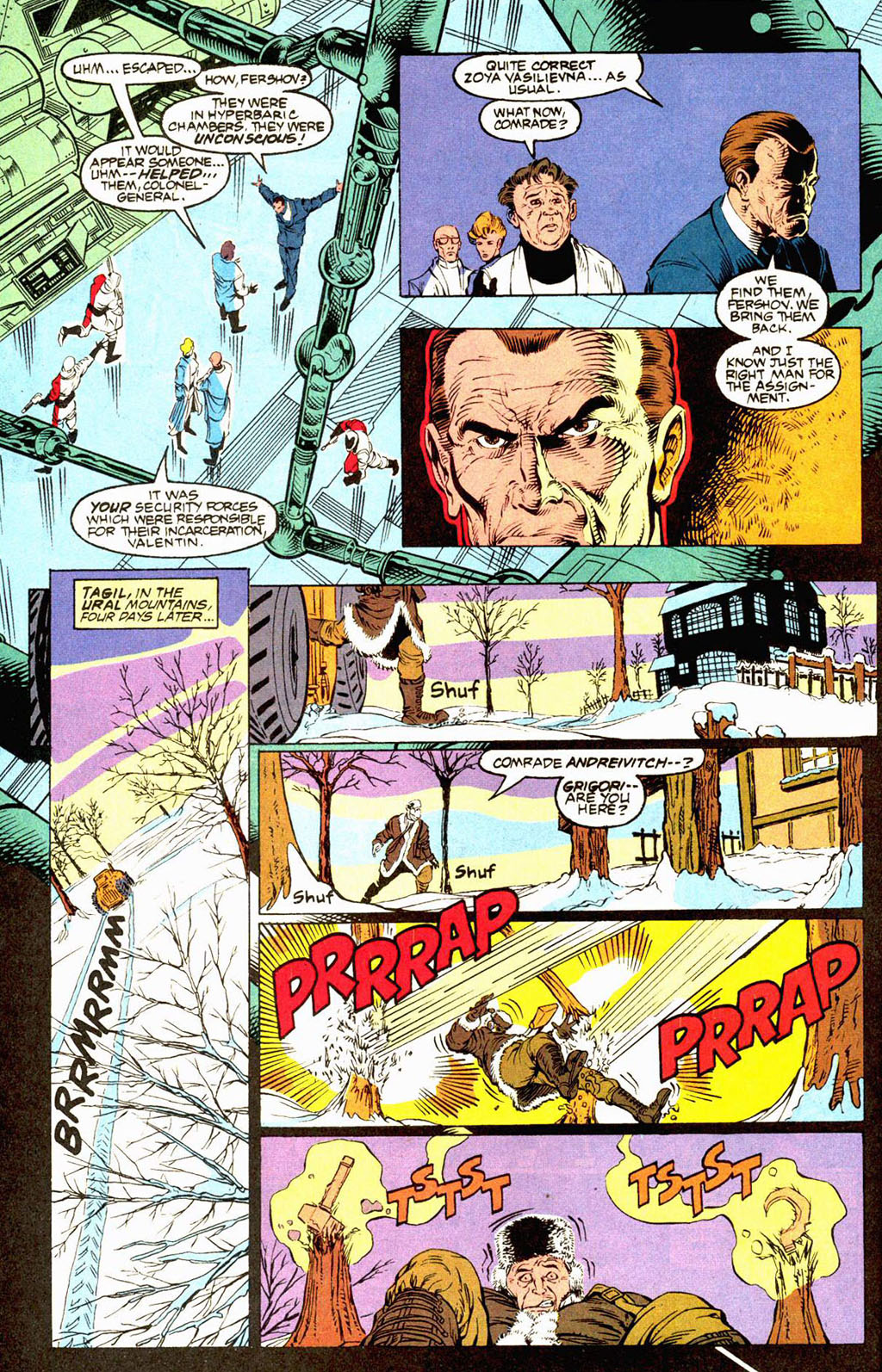 Read online Soviet Super Soldiers comic -  Issue # Full - 9