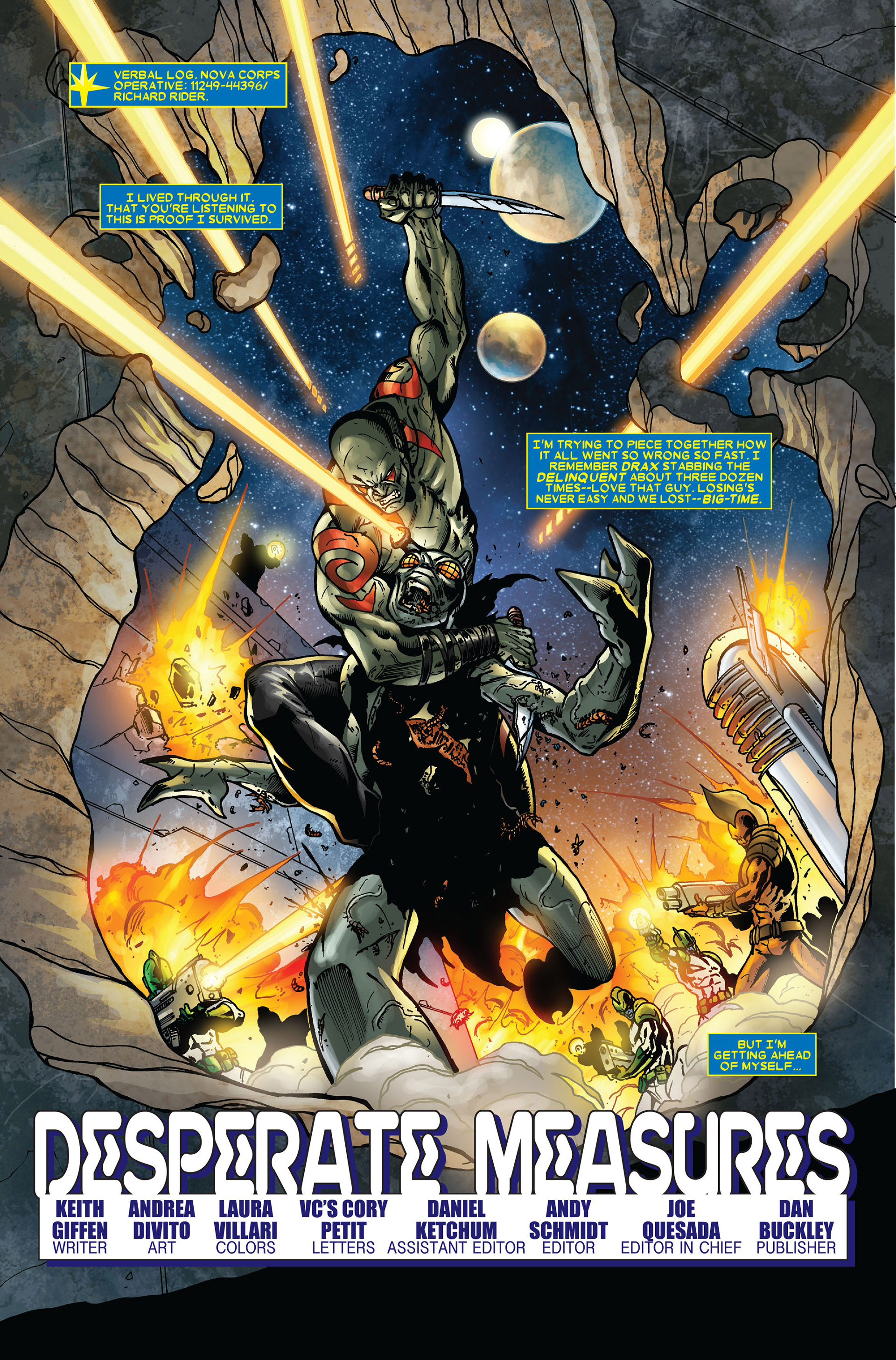 Read online Annihilation comic -  Issue #3 - 2