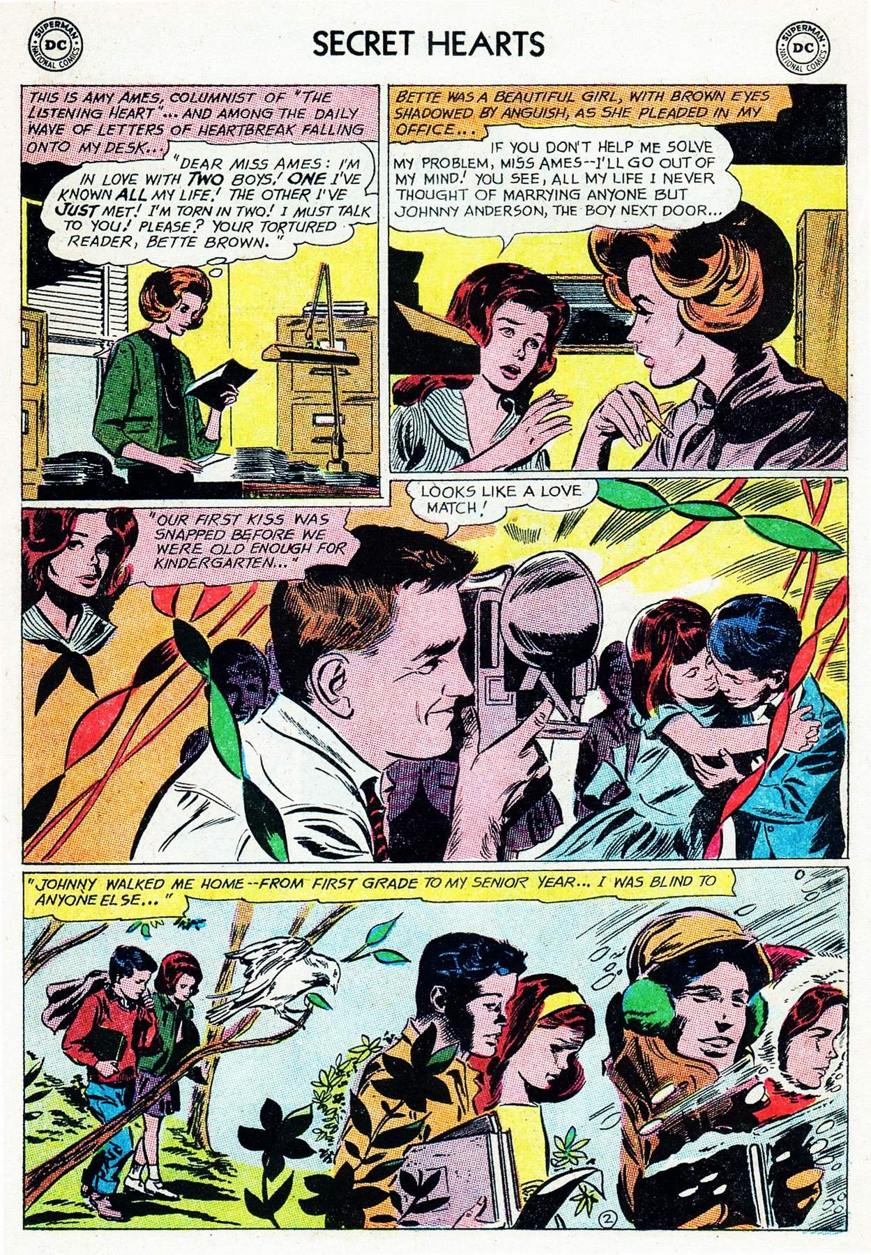 Read online Secret Hearts comic -  Issue #105 - 22