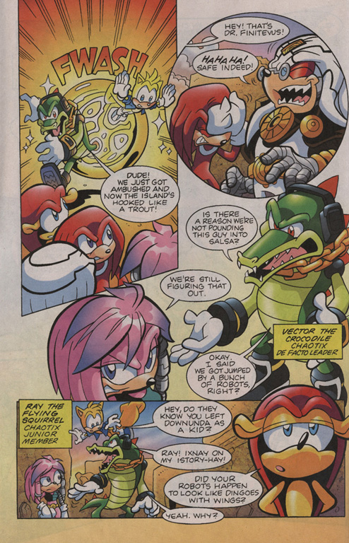 Read online Sonic Universe comic -  Issue #11 - 5