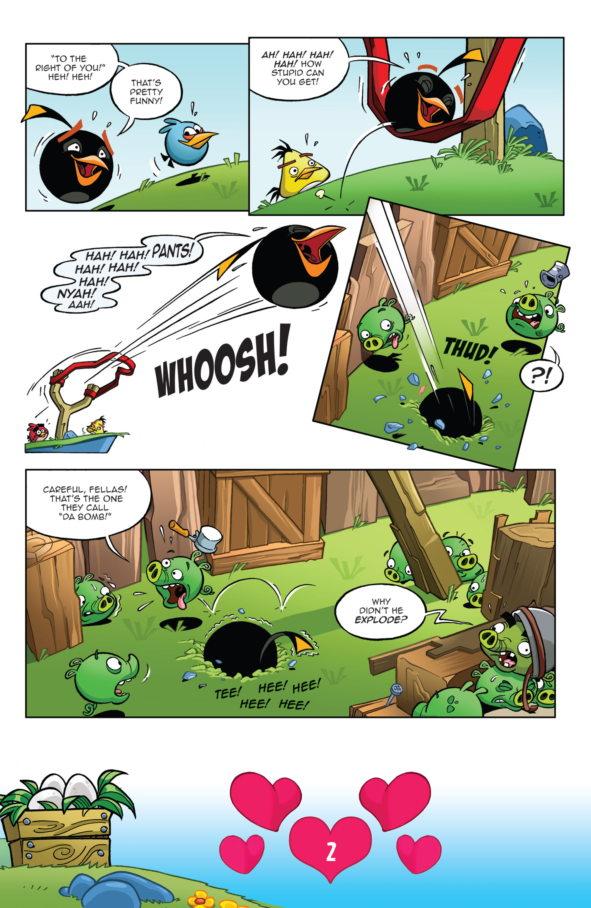 Read online Angry Birds Comics (2016) comic -  Issue #2 - 4