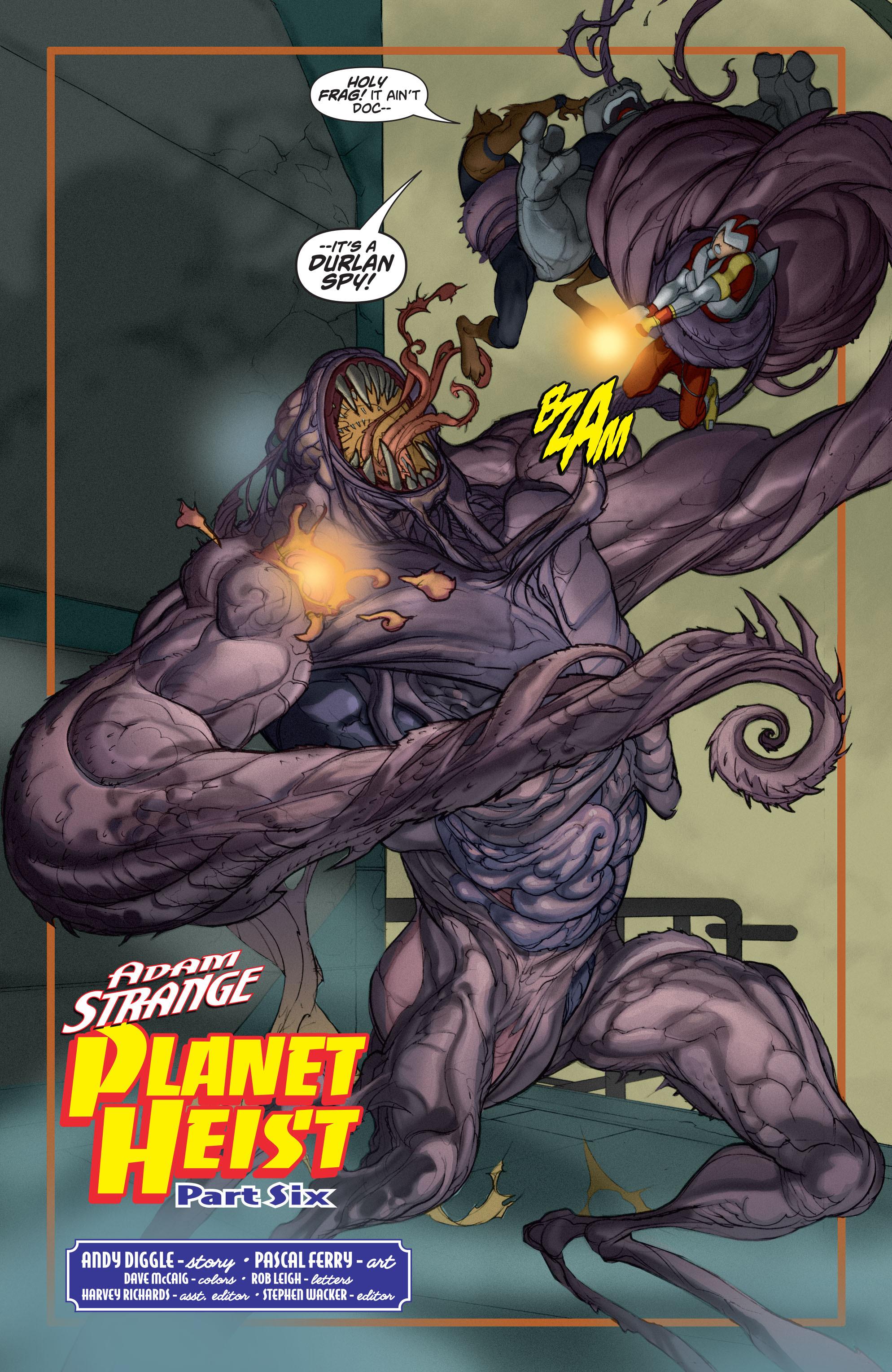 Read online Adam Strange (2004) comic -  Issue #6 - 7