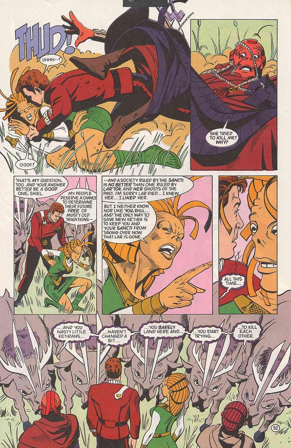 Read online Star Trek (1989) comic -  Issue # Annual 3 - 56