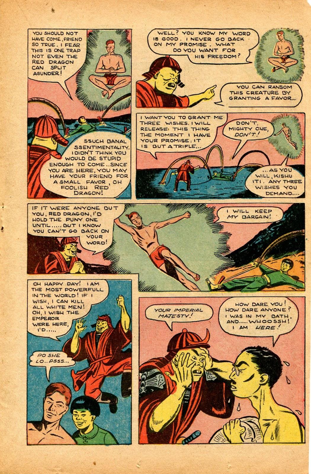 Read online Super-Magician Comics comic -  Issue #33 - 19