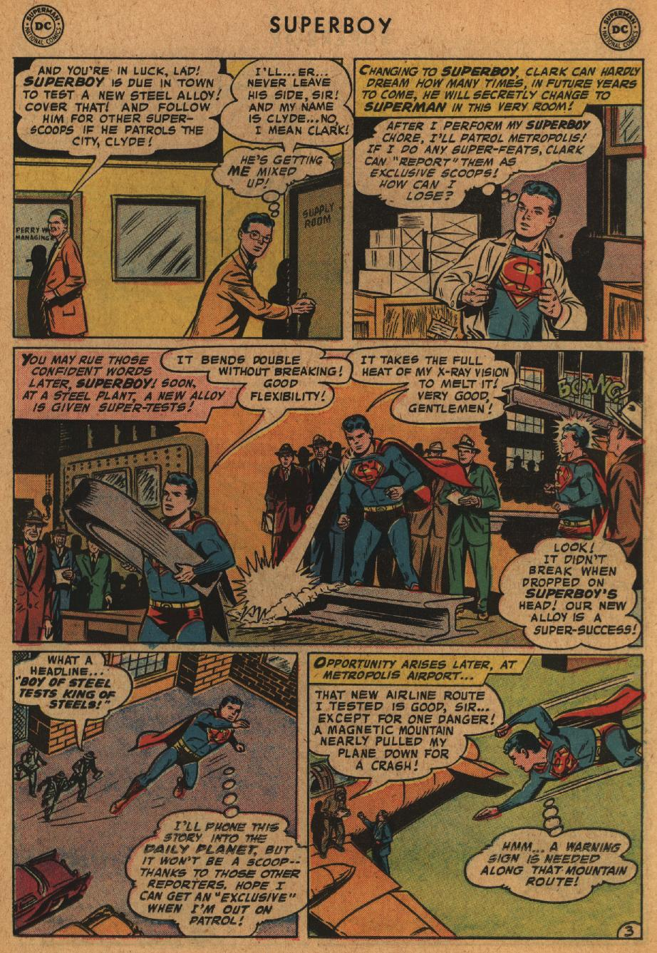 Superboy (1949) issue 63 - Page 13