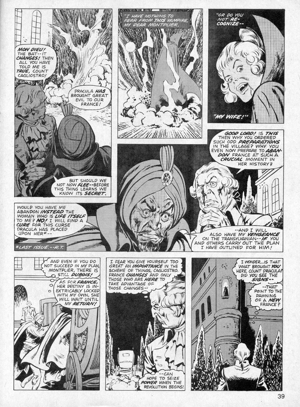 Dracula Lives issue 6 - Page 35
