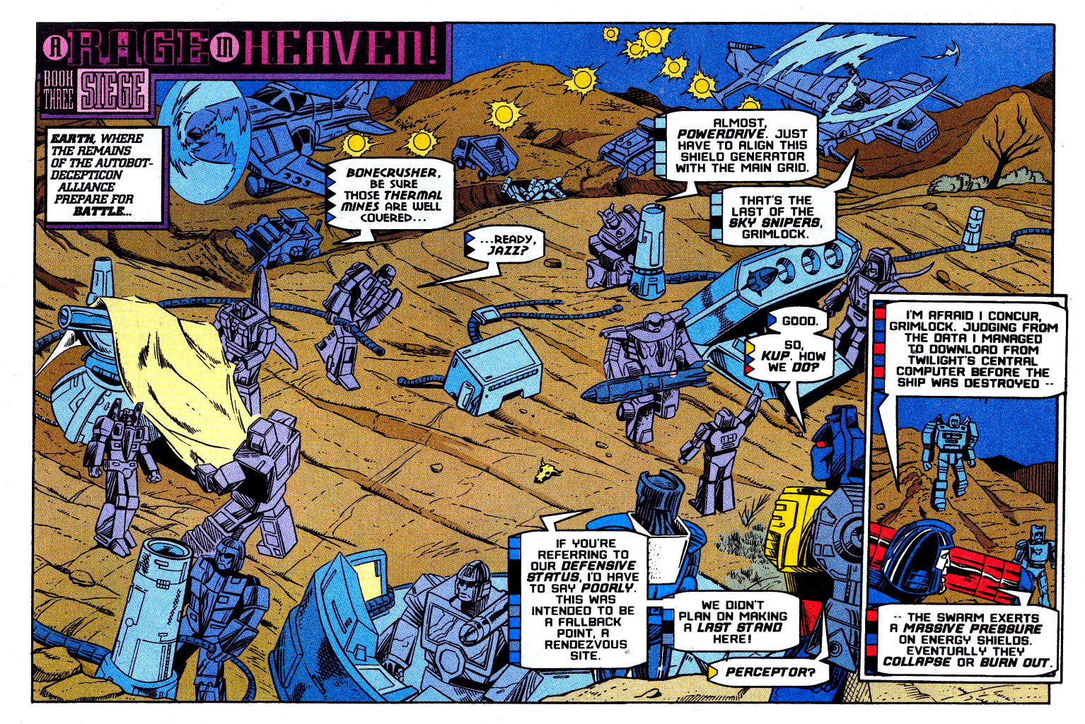Read online Transformers: Generation 2 comic -  Issue #12 - 21