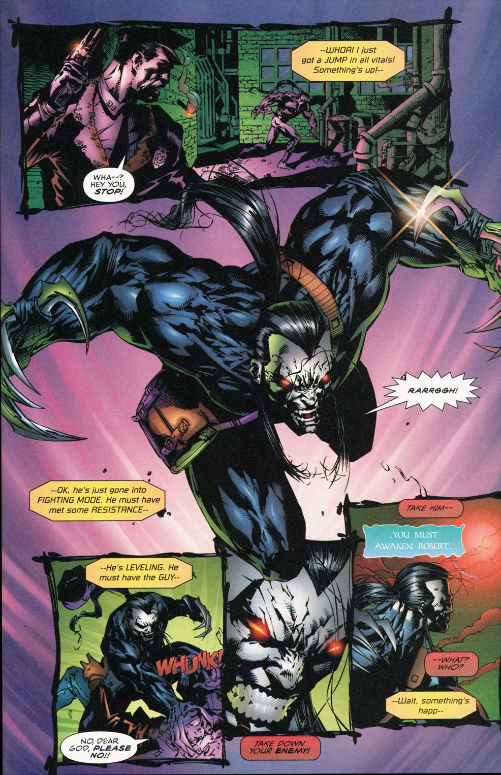Cyberforce (1993) Issue #16 #16 - English 28