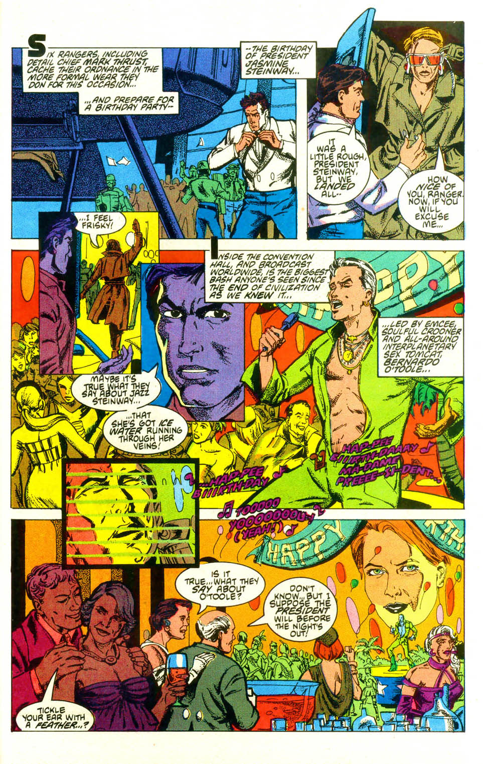 Read online American Flagg! comic -  Issue #19 - 26