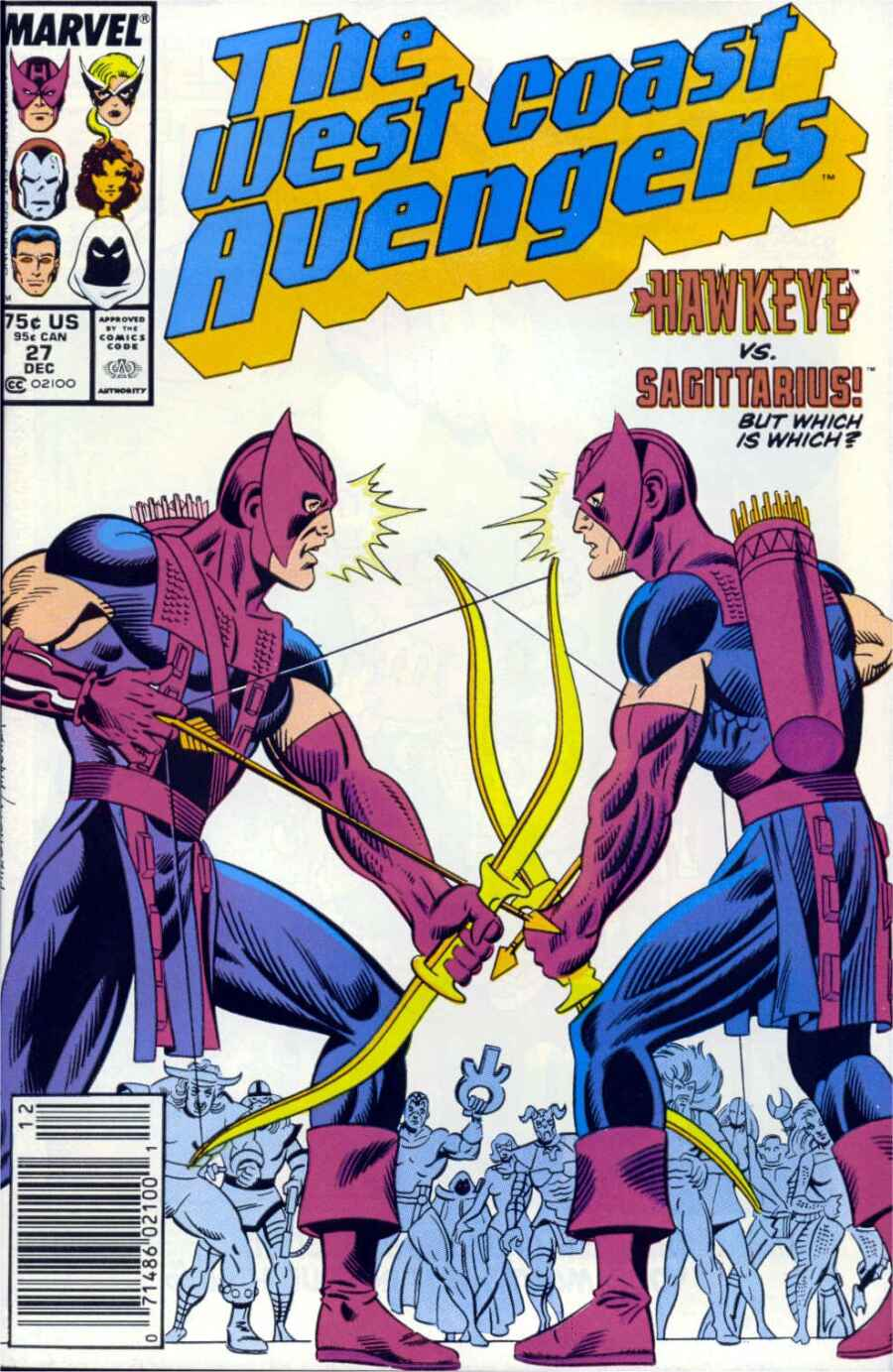 West Coast Avengers (1985) 27 Page 1