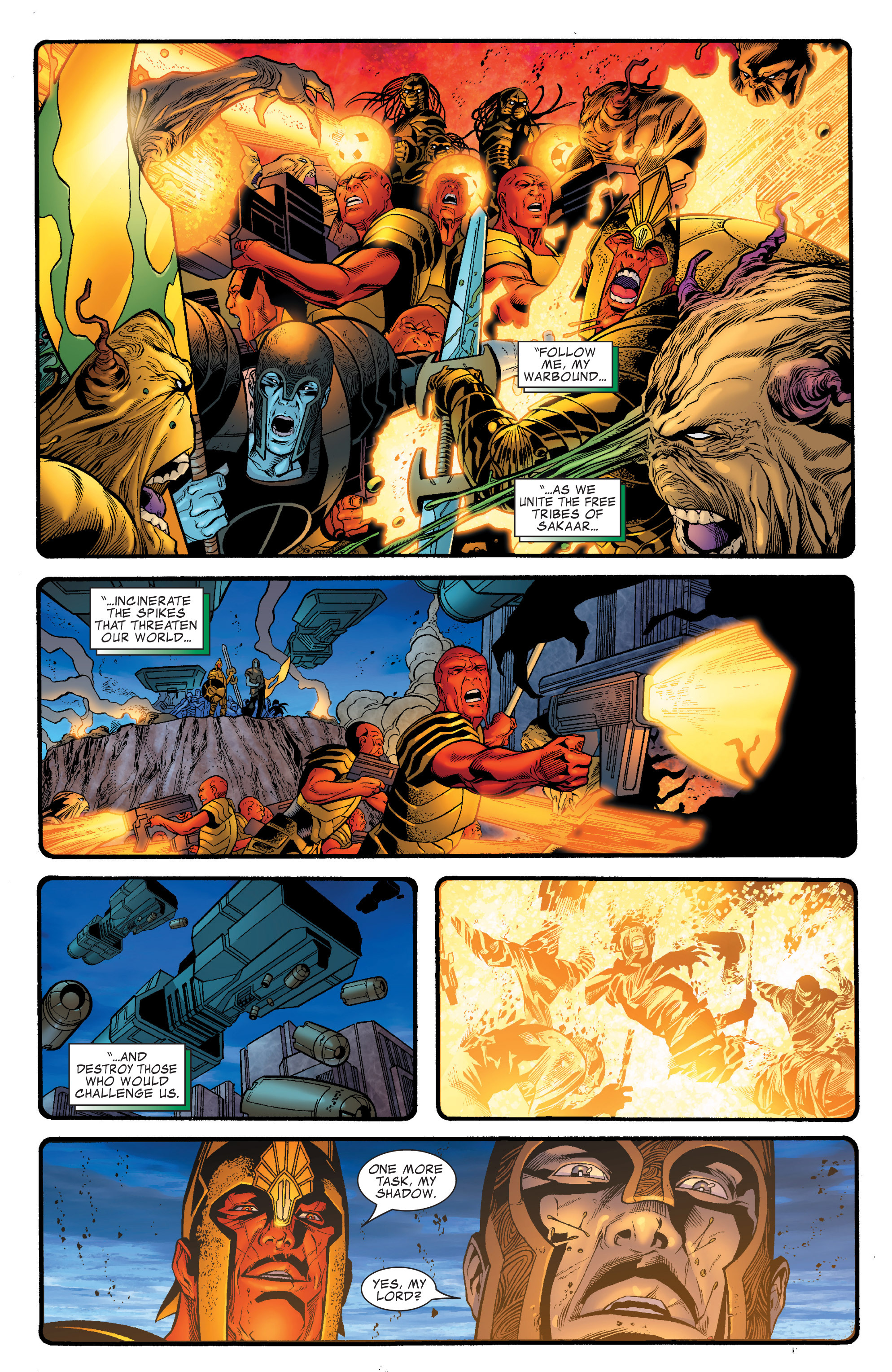 Read online World War Hulk Aftersmash: Warbound, Vol. 1 comic -  Issue #2 - 23