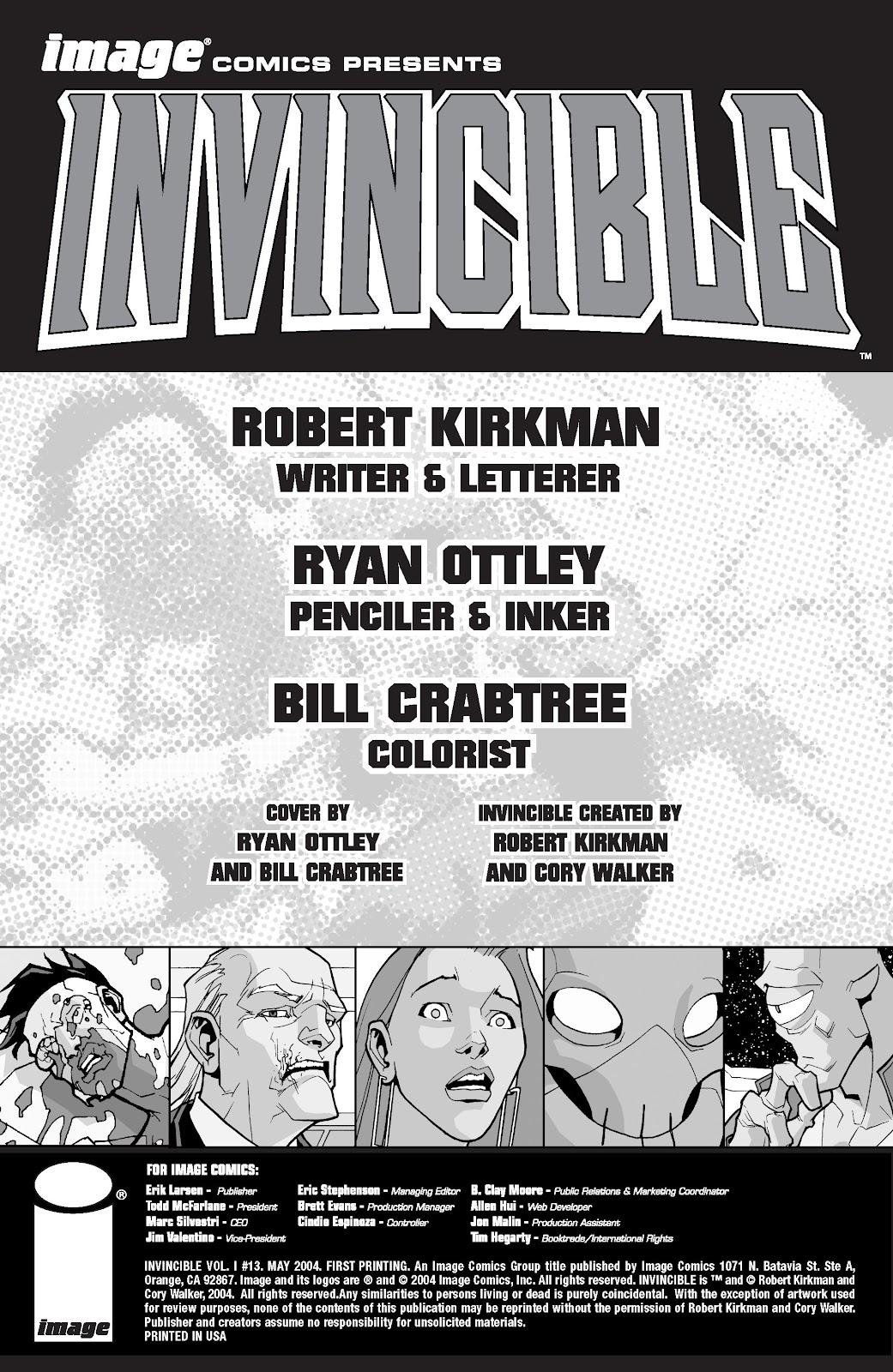 Invincible (2003) 13 Page 2