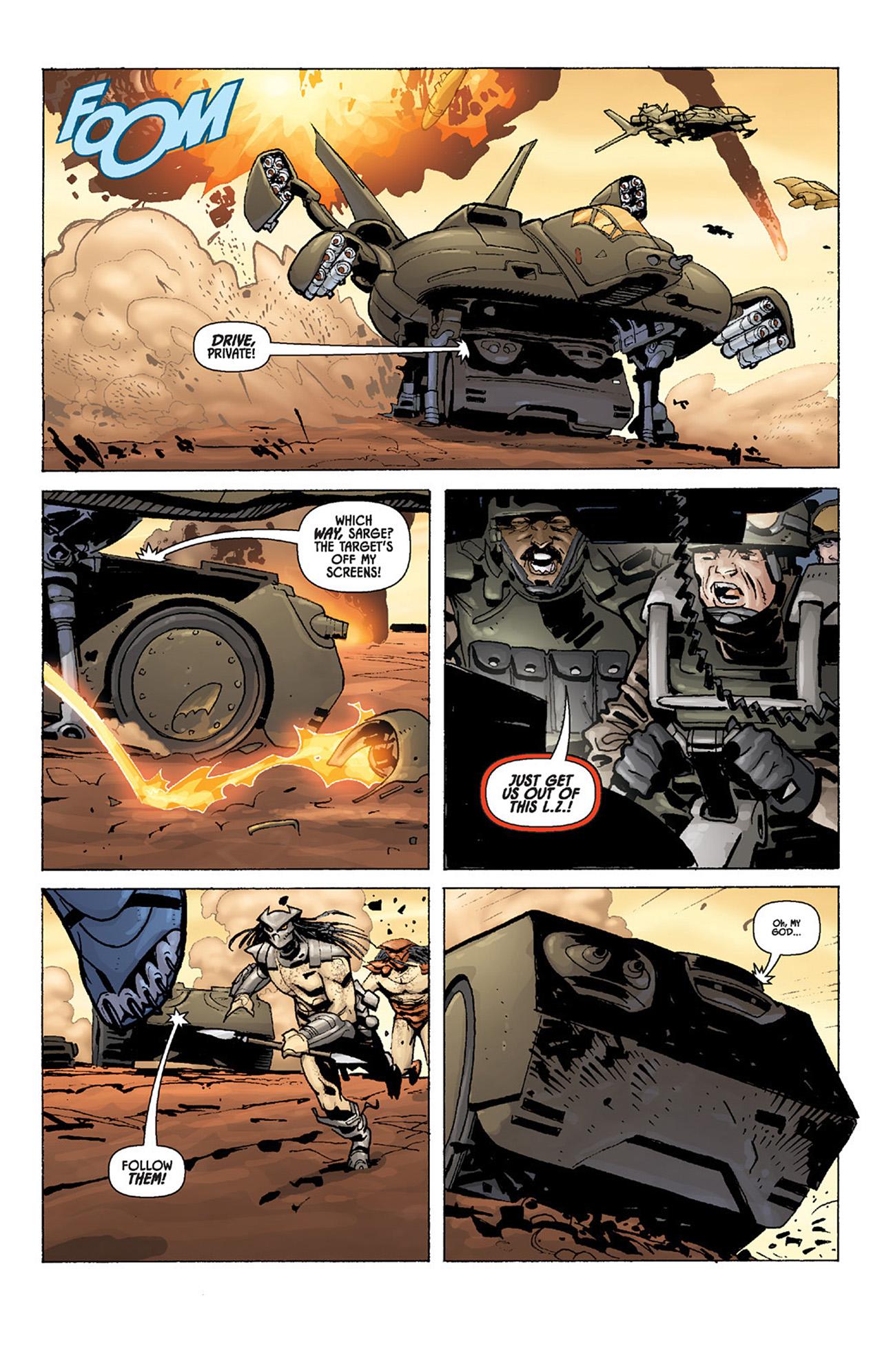 Read online Aliens vs. Predator: Three World War comic -  Issue #4 - 8