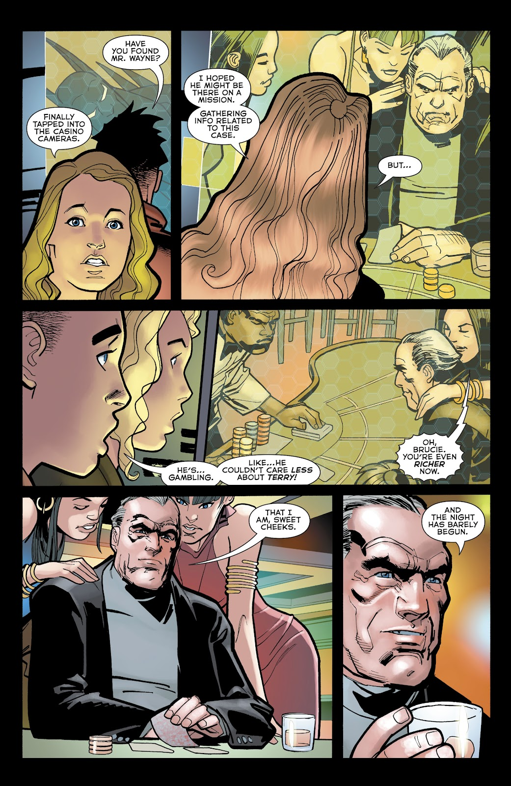 Read online Batman Beyond (2016) comic -  Issue #32 - 20