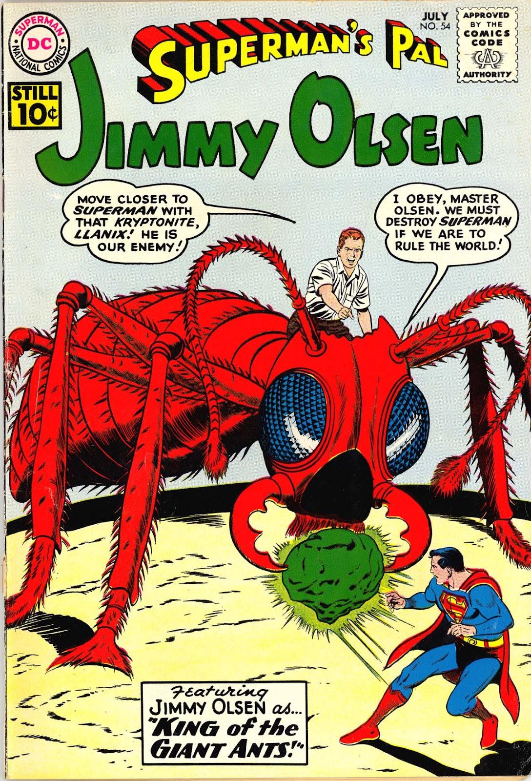 Supermans Pal Jimmy Olsen (1954) 54 Page 1