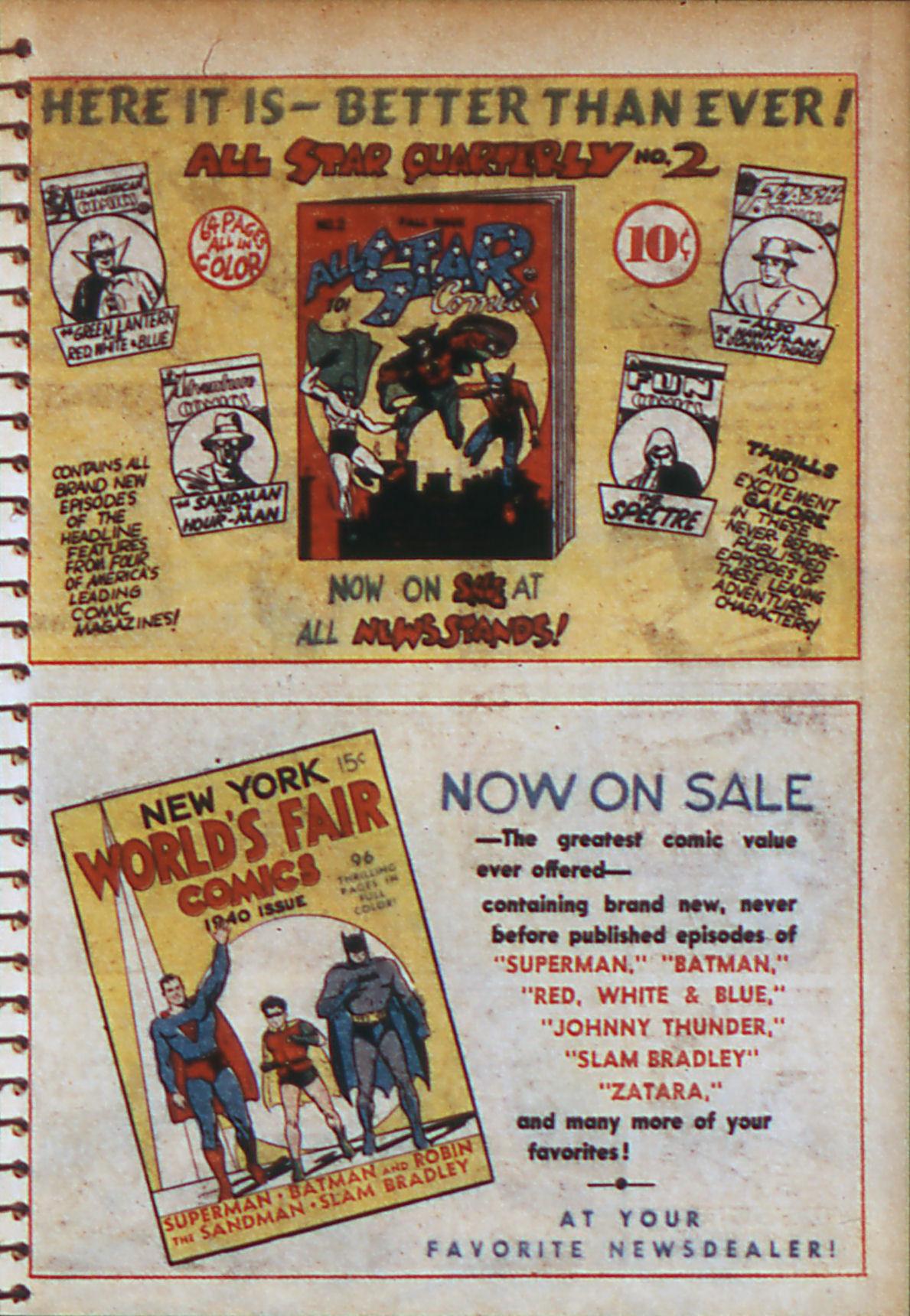 Read online Adventure Comics (1938) comic -  Issue #56 - 12