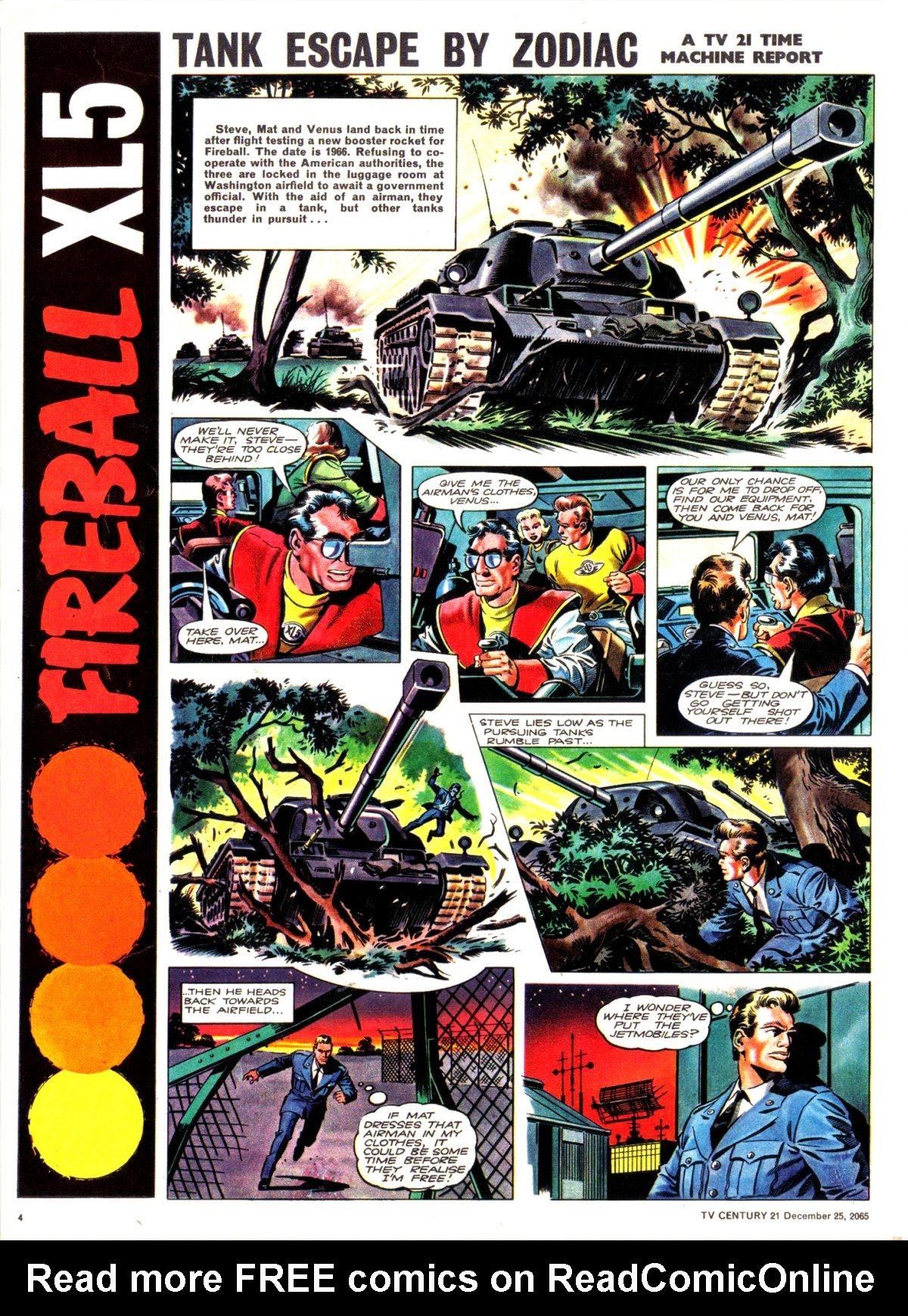 Read online TV Century 21 (TV 21) comic -  Issue #49 - 4