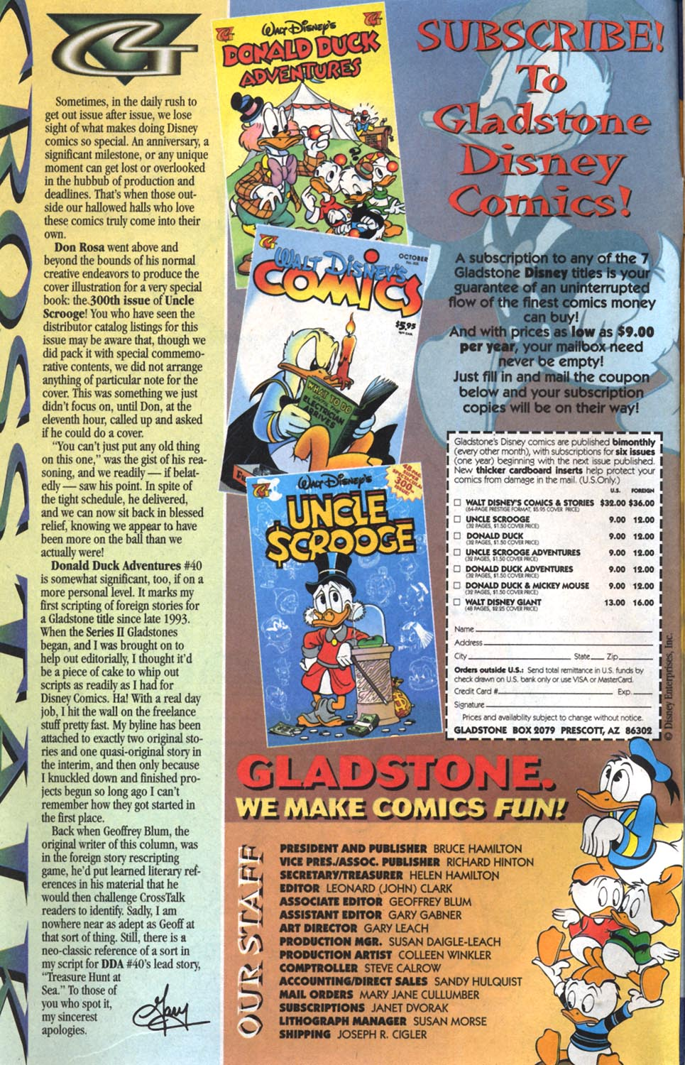 Read online Uncle Scrooge (1953) comic -  Issue #300 - 2