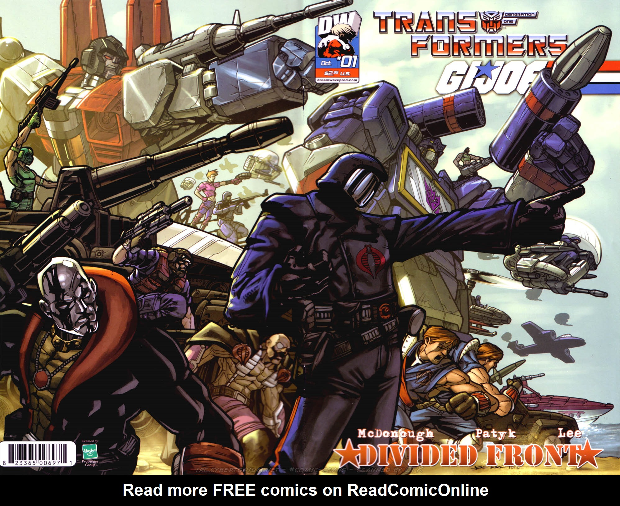 Read online Transformers/G.I. Joe: Divided Front comic -  Issue # Full - 3