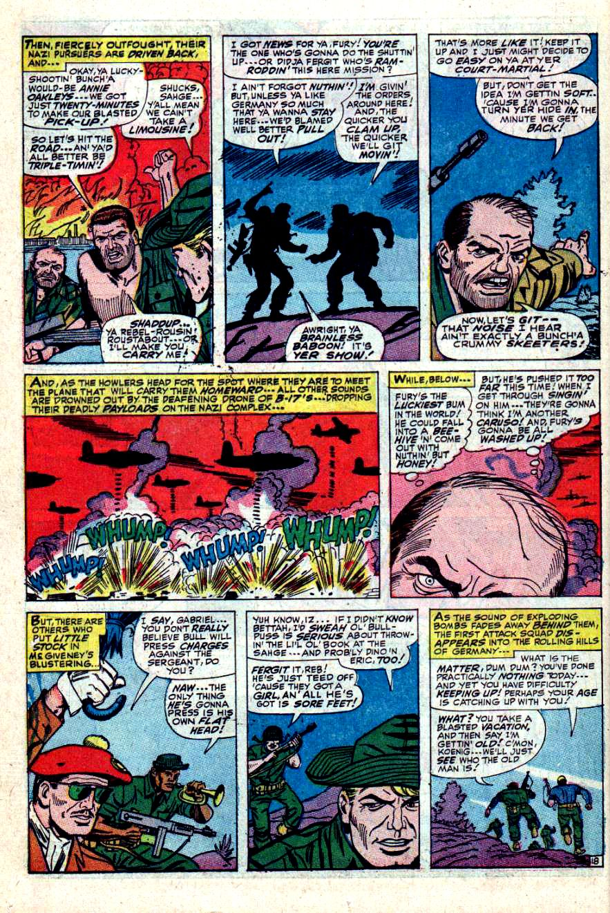 Read online Sgt. Fury comic -  Issue #42 - 26