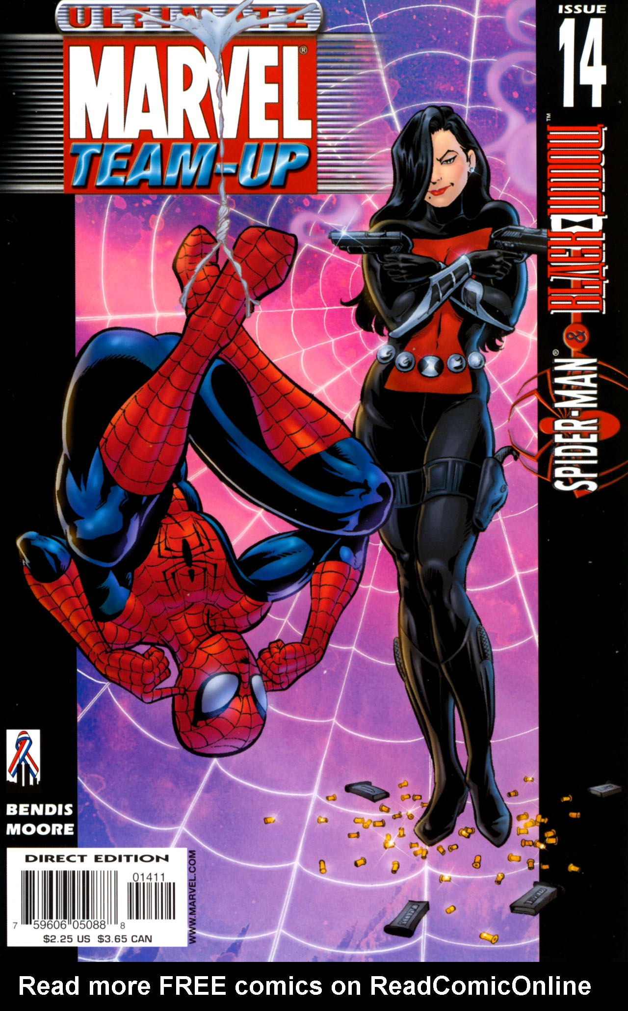 Read online Ultimate Marvel Team-Up comic -  Issue #14 - 1
