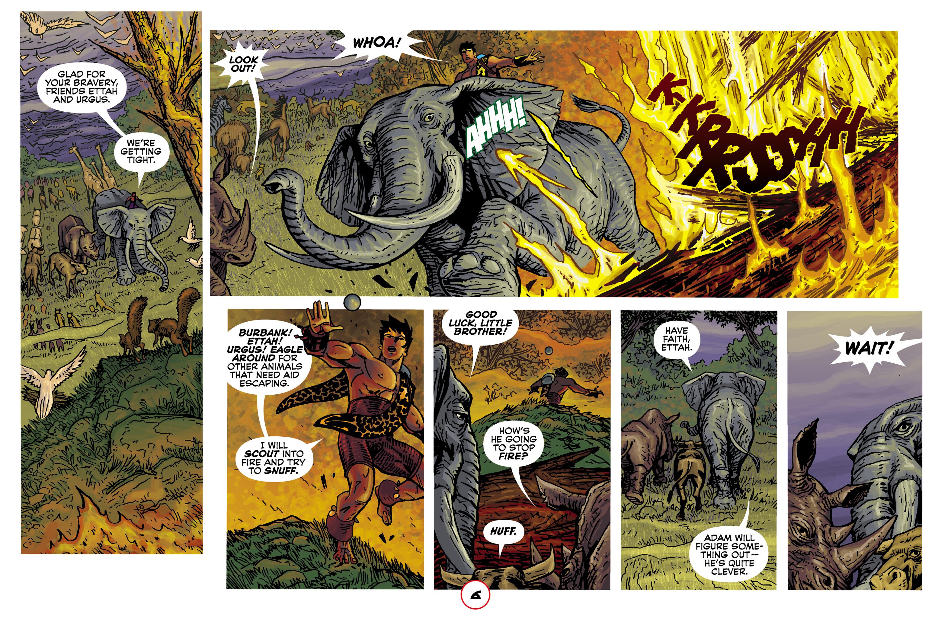 Read online Adam.3 comic -  Issue #2 - 8