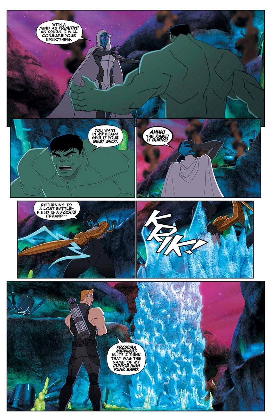 Read online Marvel Universe Avengers Assemble Season 2 comic -  Issue #15 - 23
