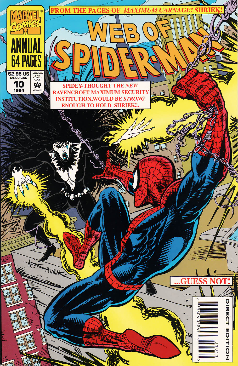 Web of Spider-Man (1985) _Annual 10 #10 - English 1