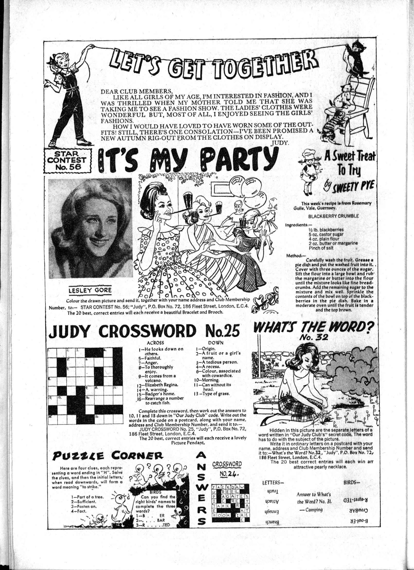 Read online Judy comic -  Issue #189 - 26