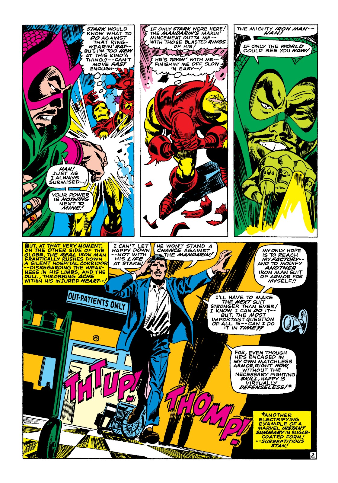Read online Marvel Masterworks: The Invincible Iron Man comic -  Issue # TPB 4 (Part 1) - 21