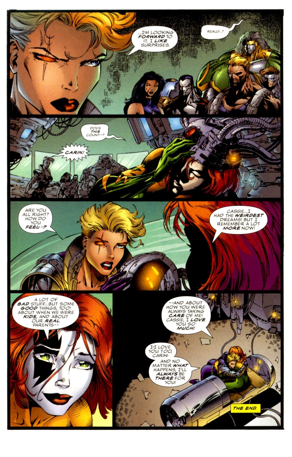Read online Cyberforce (1993) comic -  Issue # Annual 1 - 31