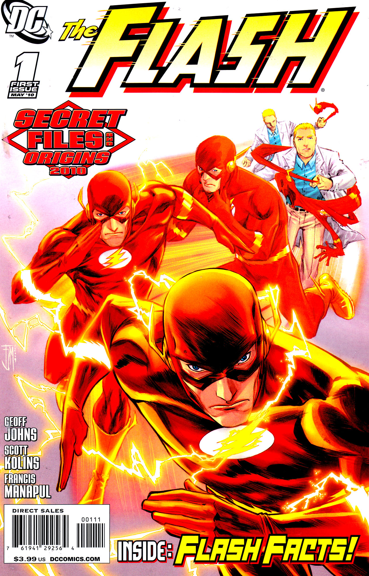 The Flash Secret Files and Origins 2010 Full Page 1