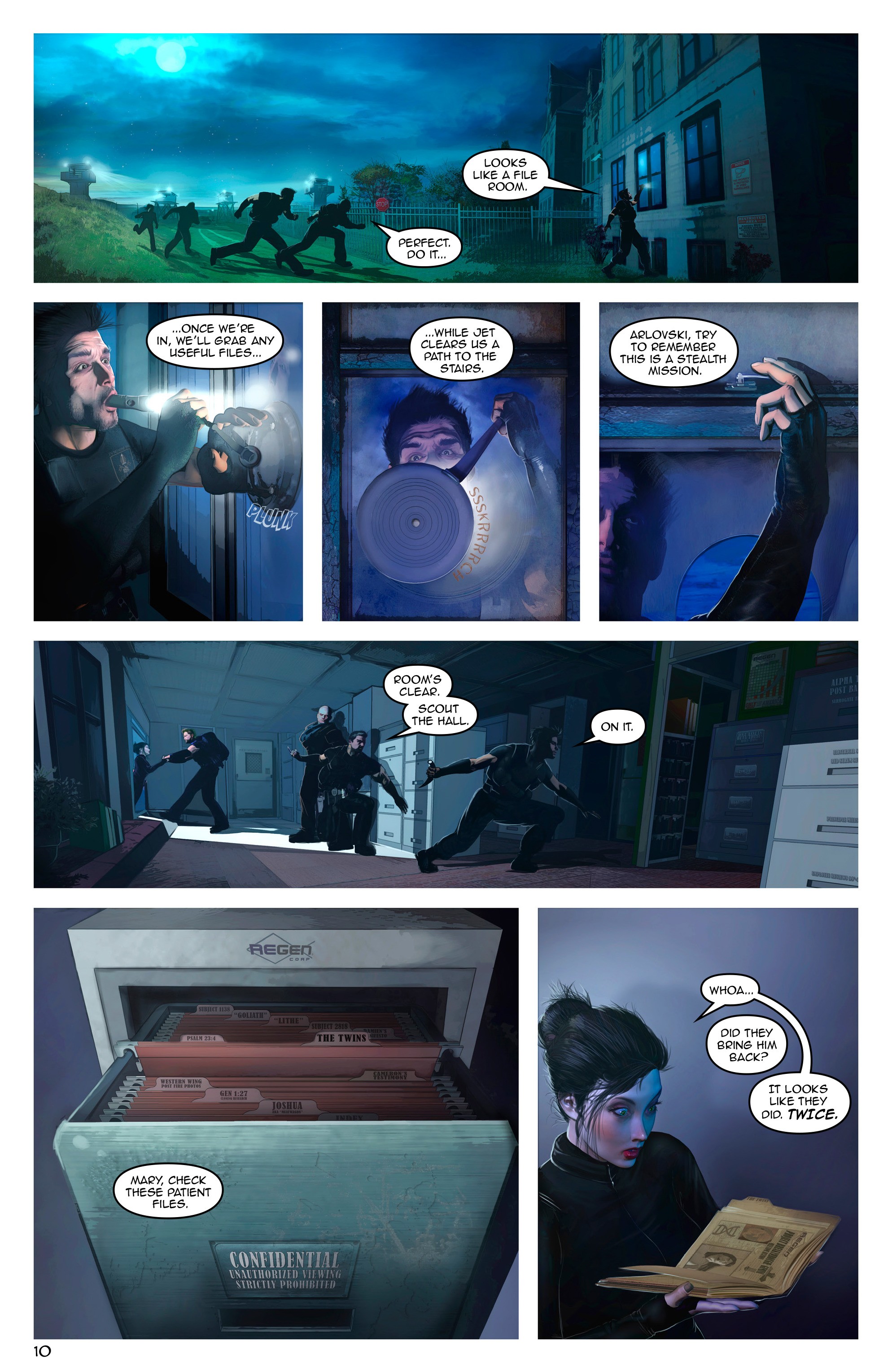 Read online Escape from Jesus Island comic -  Issue #3 - 10